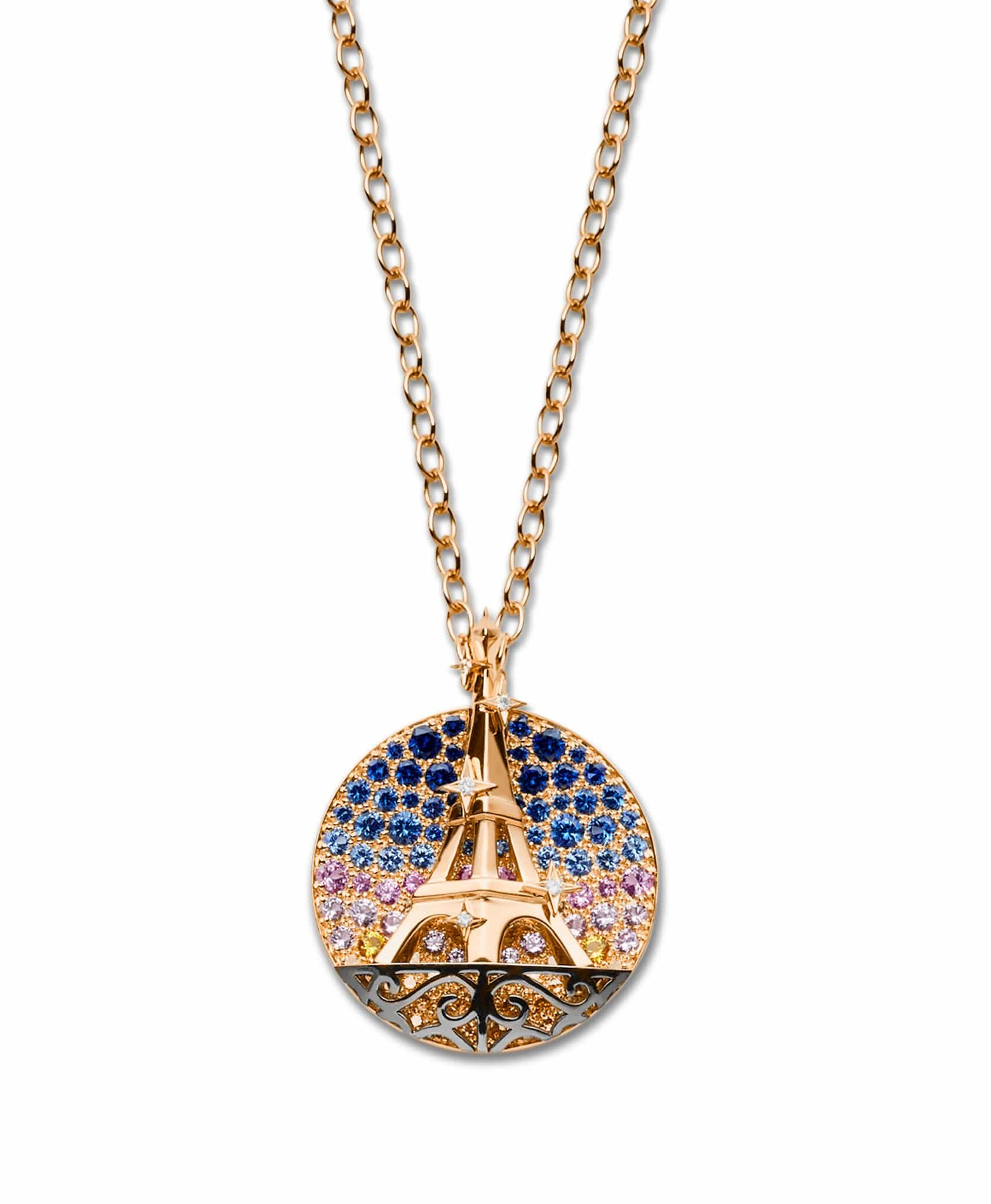 Eiffel Tower Medallion: Discover Luxury Fine Jewelry | Nouvel Heritage