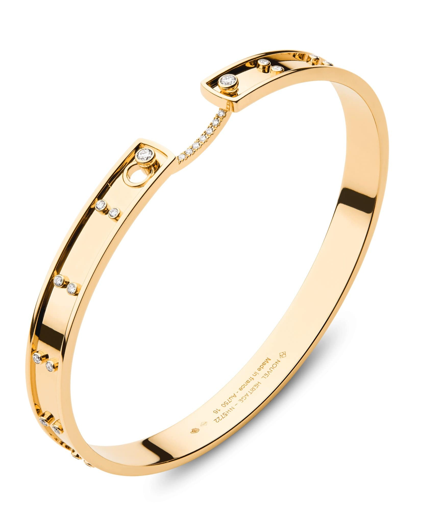 Picnic in Paris Mood Bangle: Discover Luxury Fine Jewelry | Nouvel Heritage