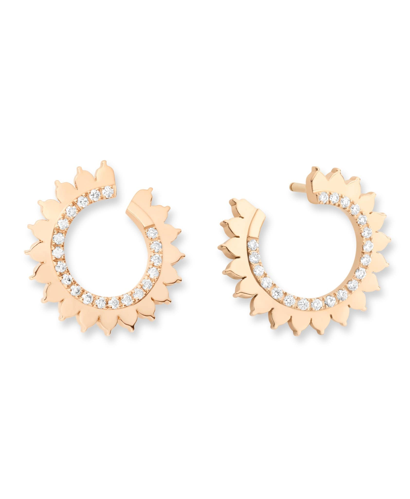 Gold Earrings: Discover Luxury Fine Jewelry | Nouvel Heritage || Rose Gold