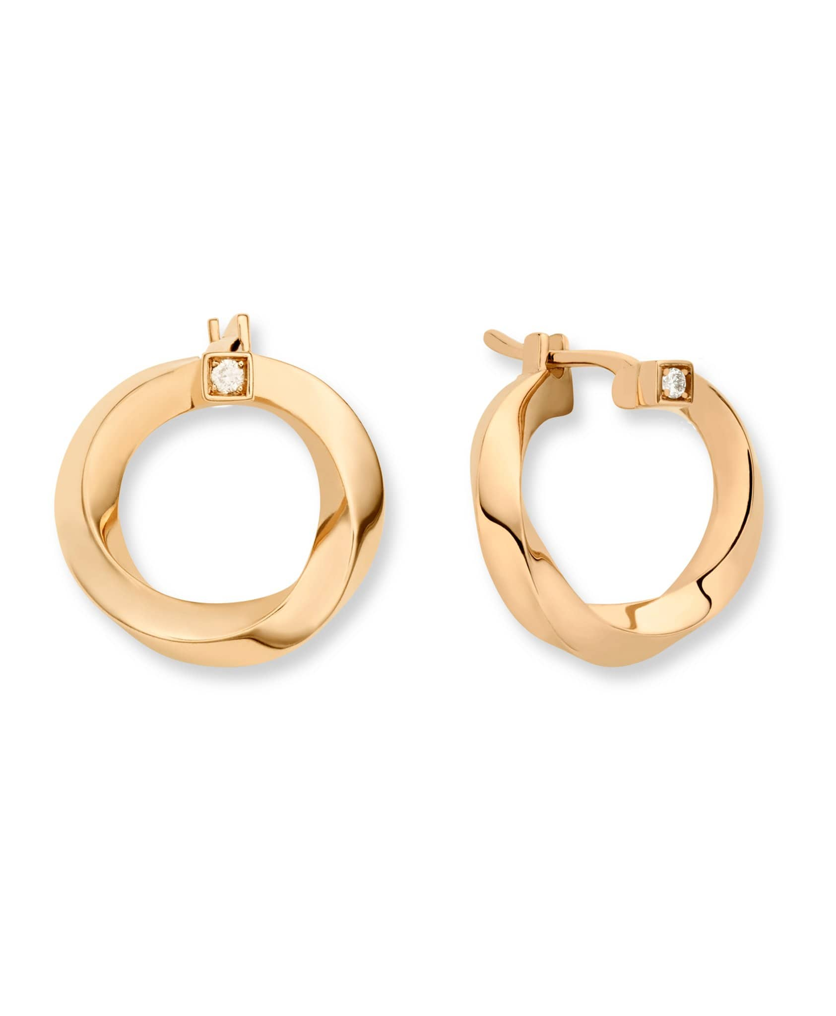 Gold Thread Earrings: Discover Luxury Fine Jewelry | Nouvel Heritage || Rose Gold