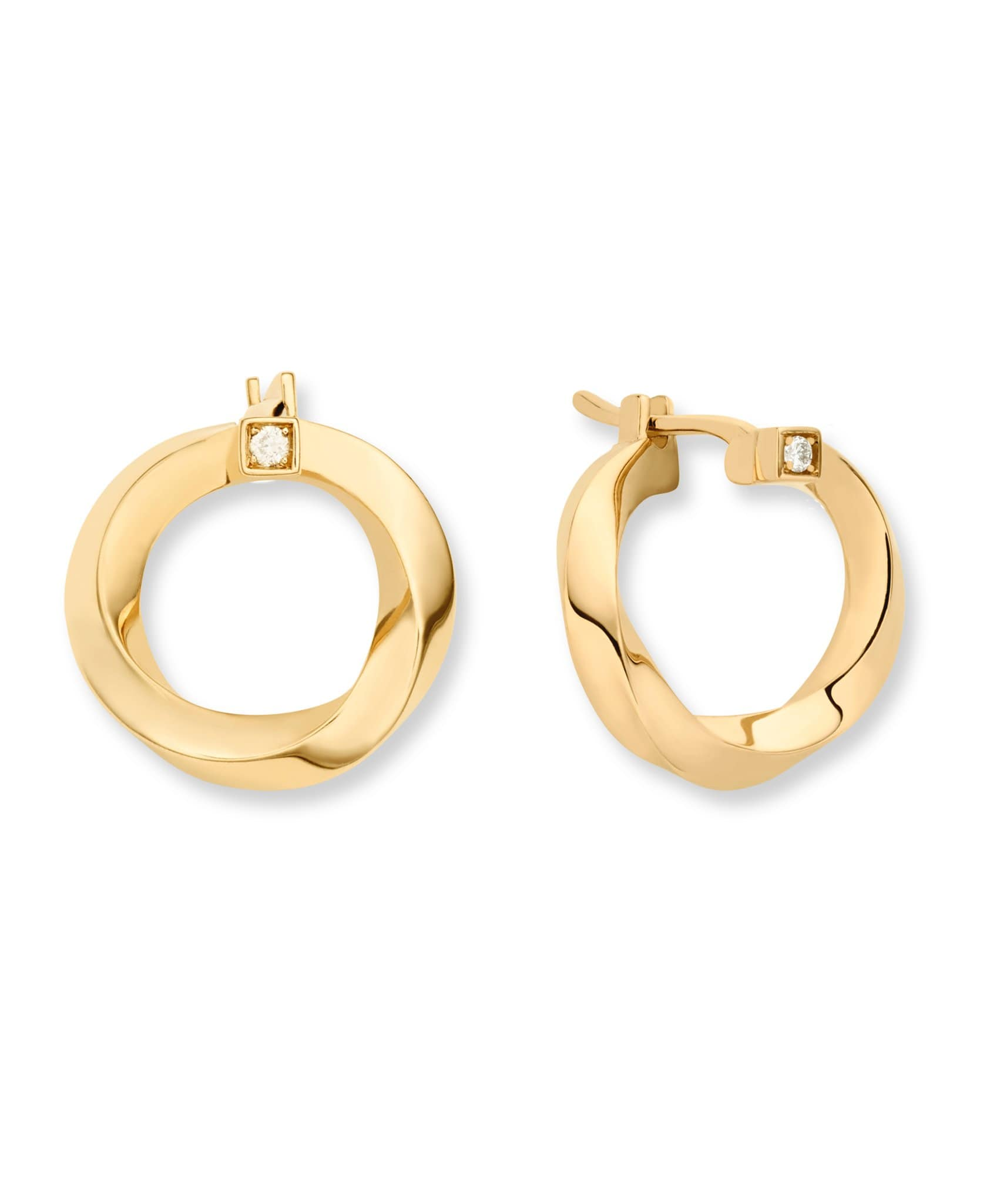 Gold Thread Earrings: Discover Luxury Fine Jewelry | Nouvel Heritage || Yellow Gold