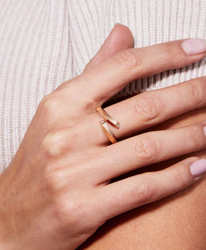 Gold Thread Ring - Nouvel Heritage