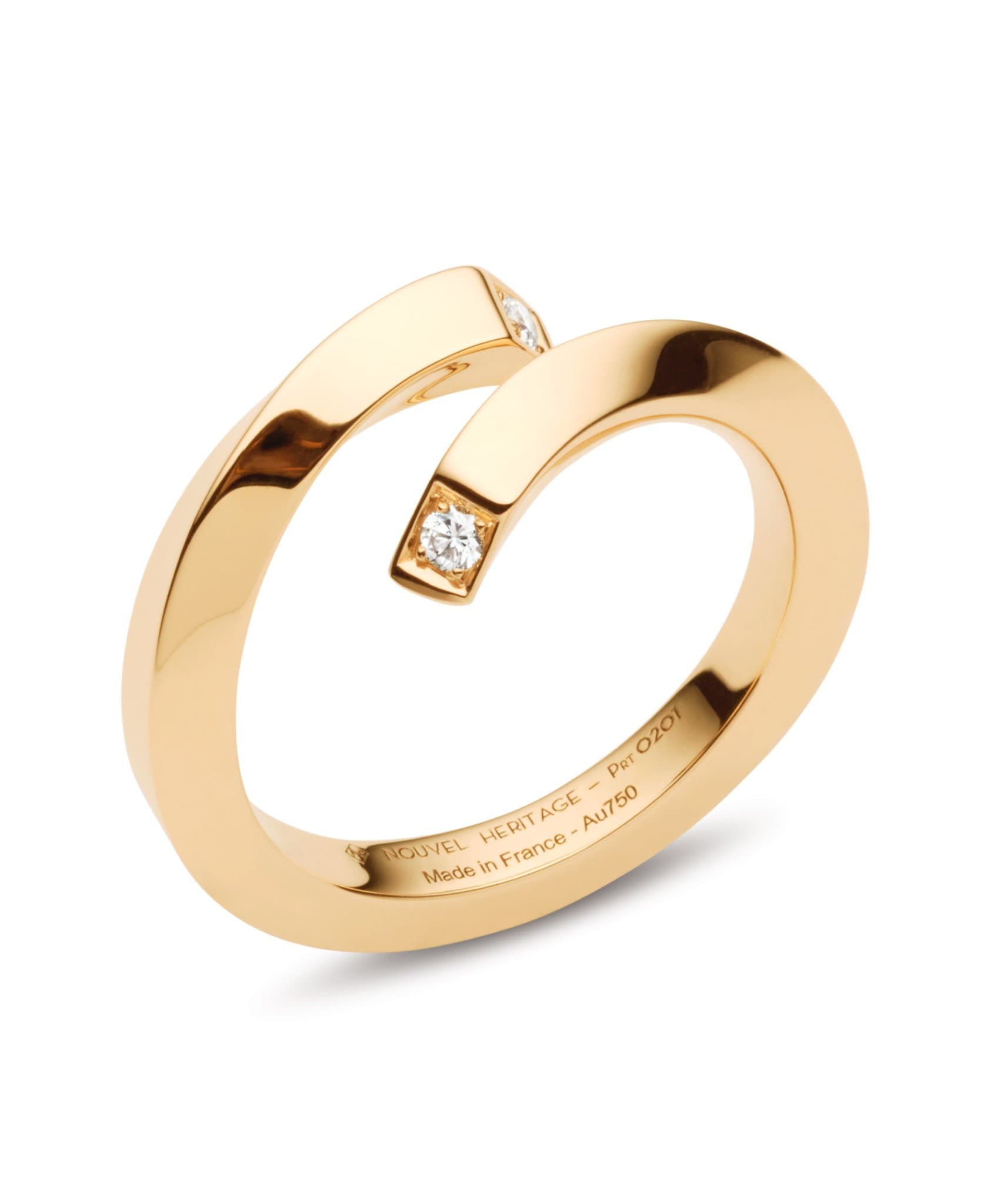 Gold Thread Ring: Discover Luxury Fine Jewelry | Nouvel Heritage || Yellow Gold