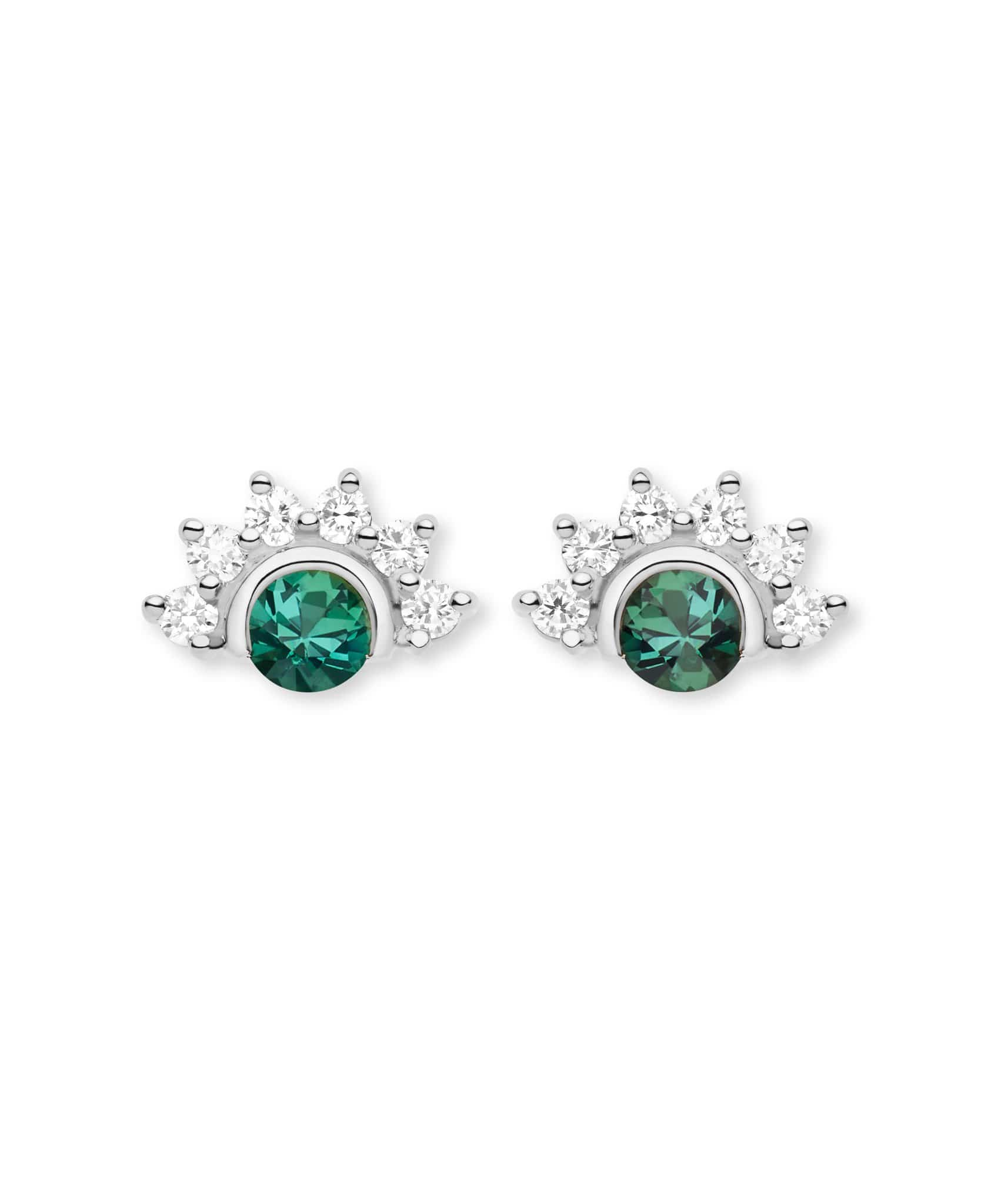 Green Tourmaline Studs: Discover Luxury Fine Jewelry | Nouvel Heritage