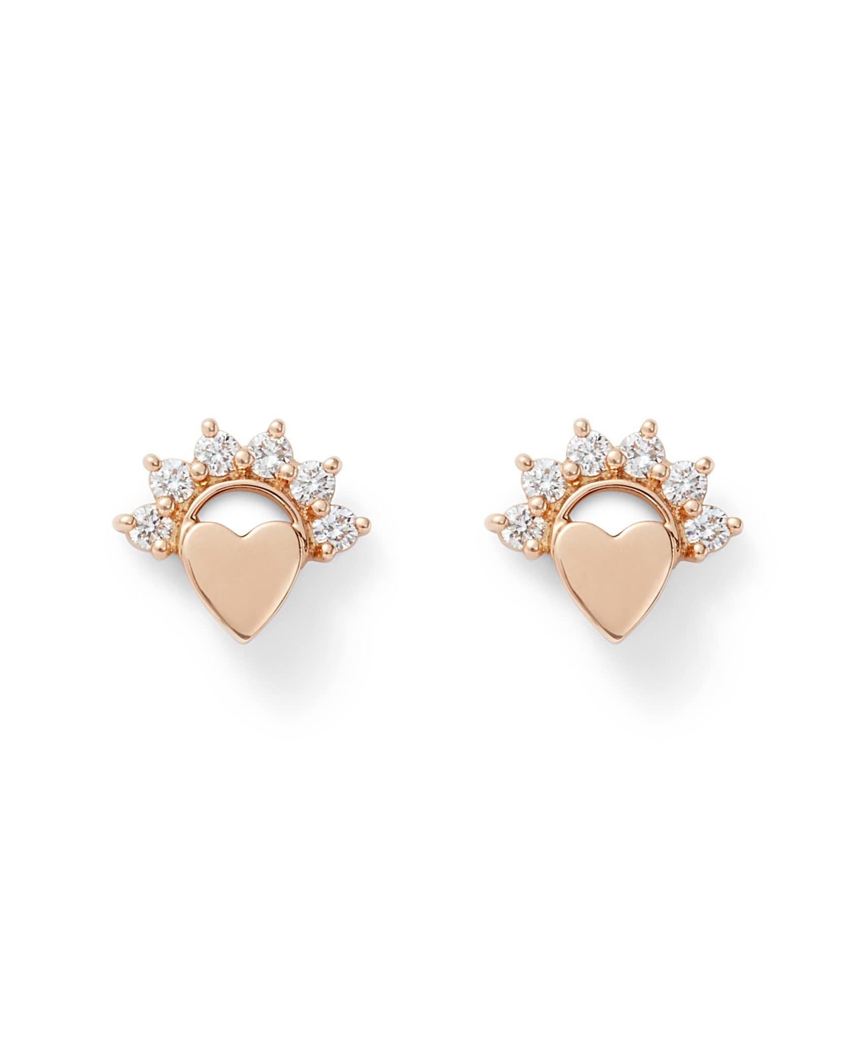 Love Studs: Discover Luxury Fine Jewelry | Nouvel Heritage || Rose Gold