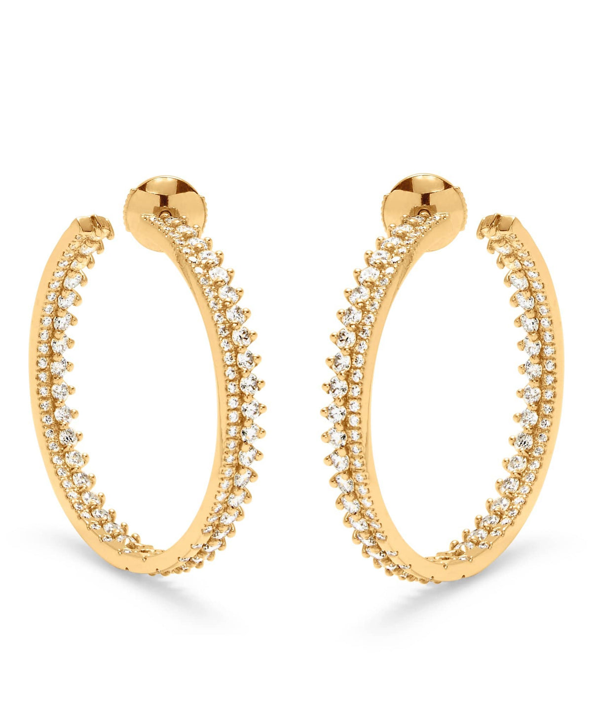 Lucie Hoops: Discover Luxury Fine Jewelry | Nouvel Heritage || Yellow Gold
