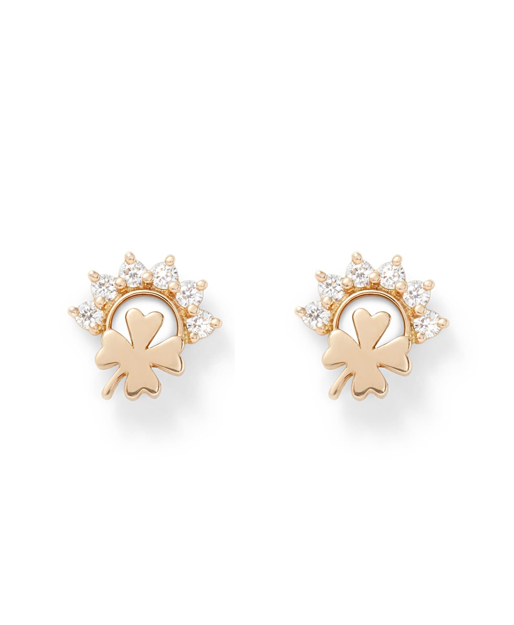 Luck Studs: Discover Luxury Fine Jewelry | Nouvel Heritage || Yellow Gold
