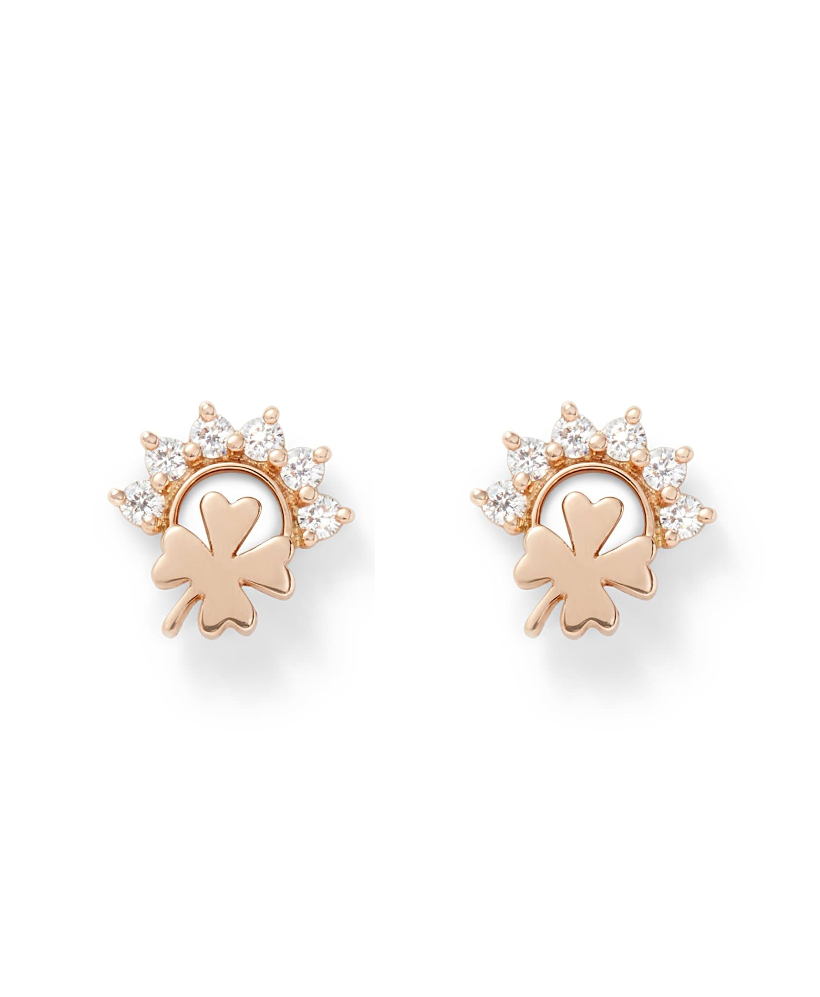 Luck Studs: Discover Luxury Fine Jewelry | Nouvel Heritage || Rose Gold