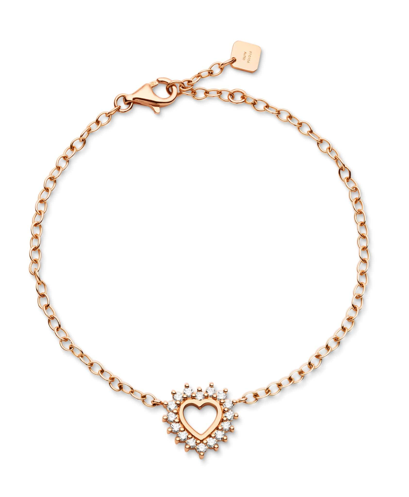 Medium Love Bracelet: Discover Luxury Fine Jewelry | Nouvel Heritage || Rose Gold