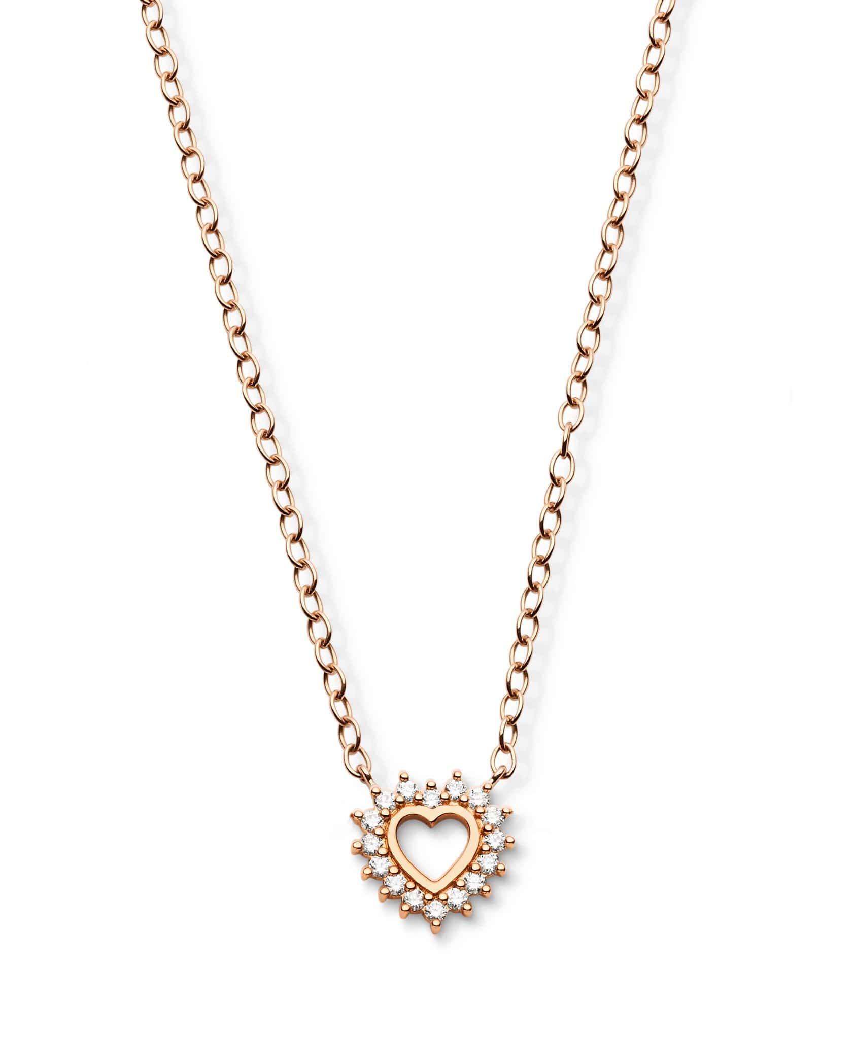 Medium Love Pendant: Discover Luxury Fine Jewelry | Nouvel Heritage || Rose Gold