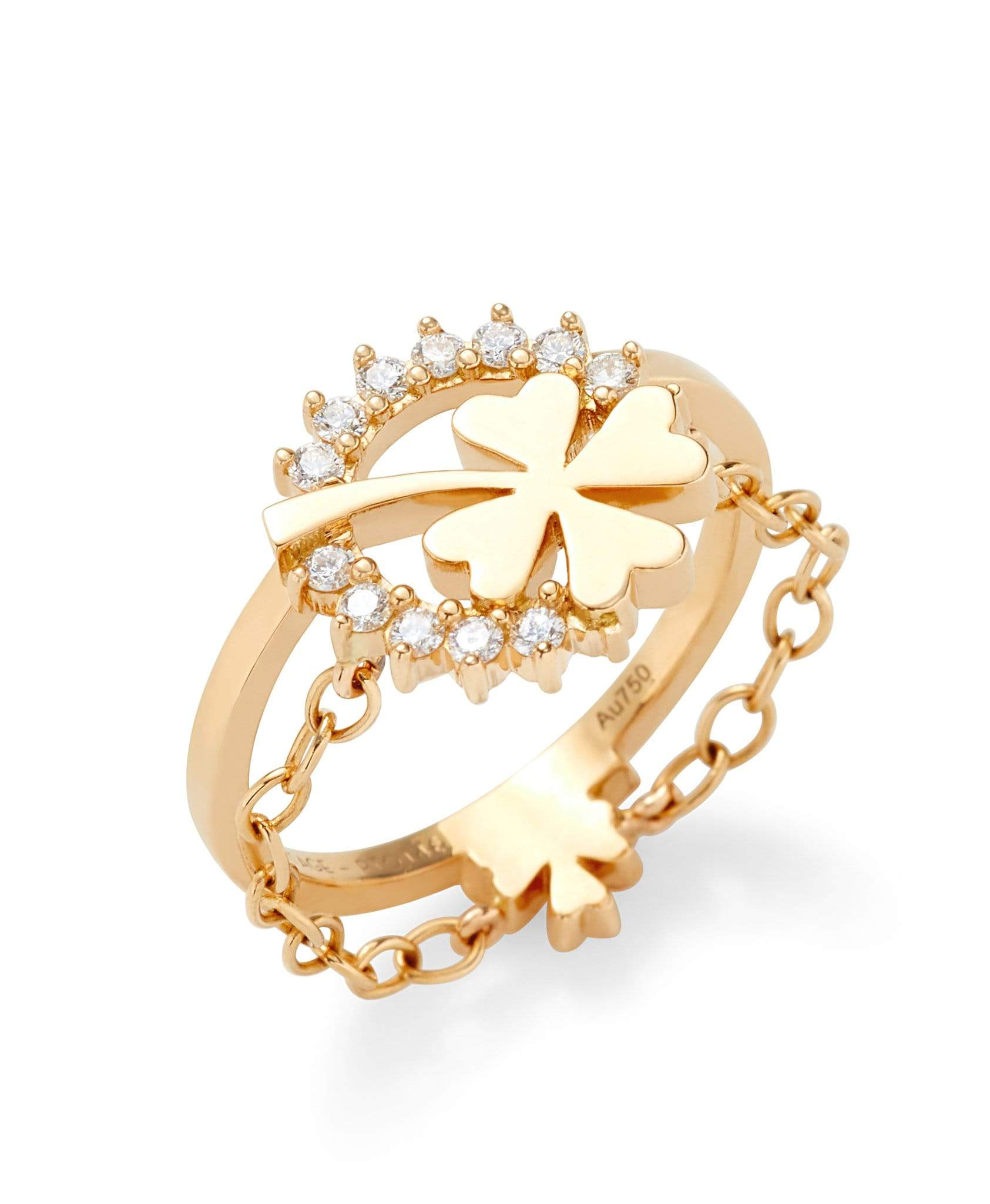 Medium Luck Ring: Discover Luxury Fine Jewelry | Nouvel Heritage || Yellow Gold