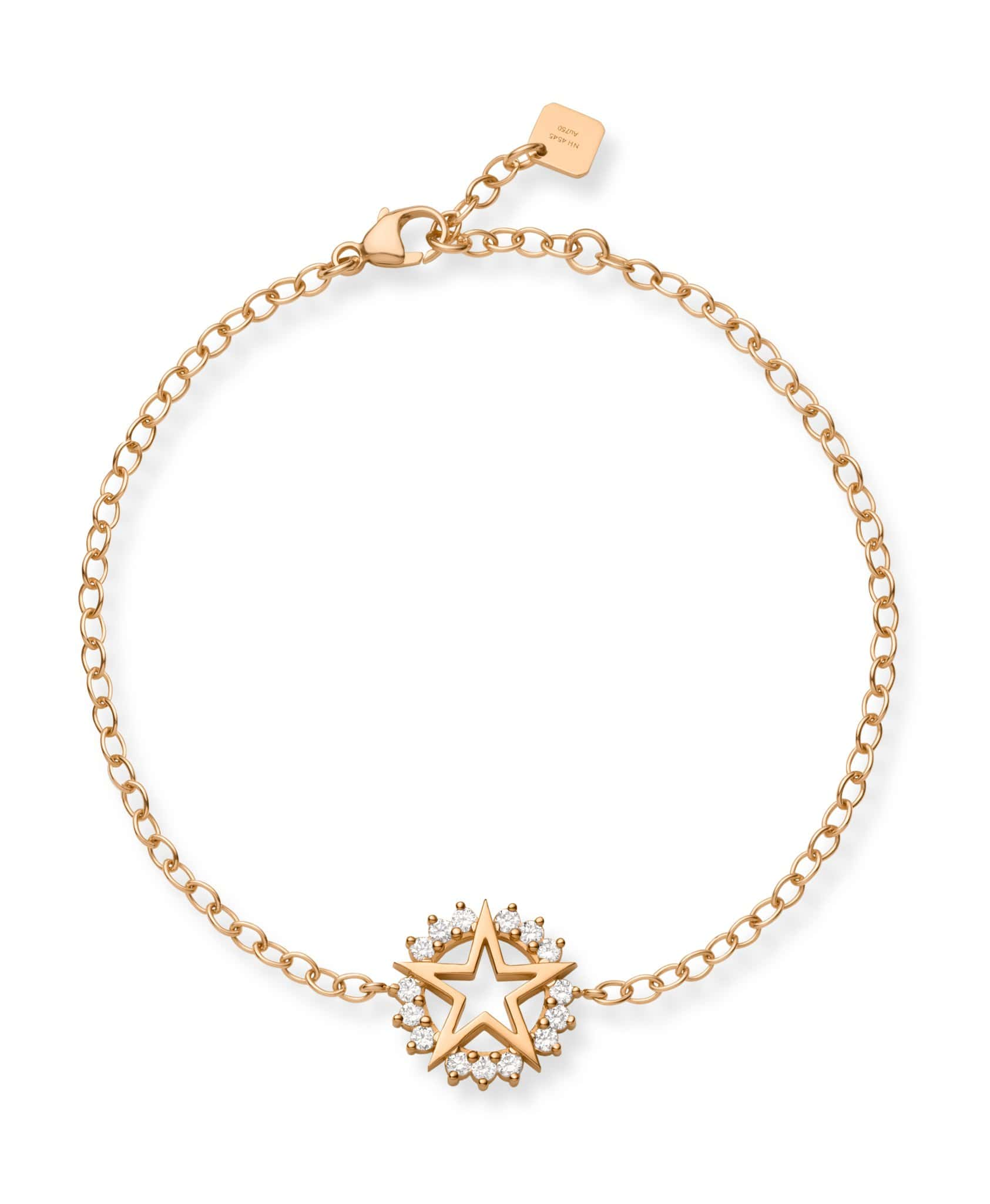 Medium Star Bracelet: Discover Luxury Fine Jewelry | Nouvel Heritage || Rose Gold