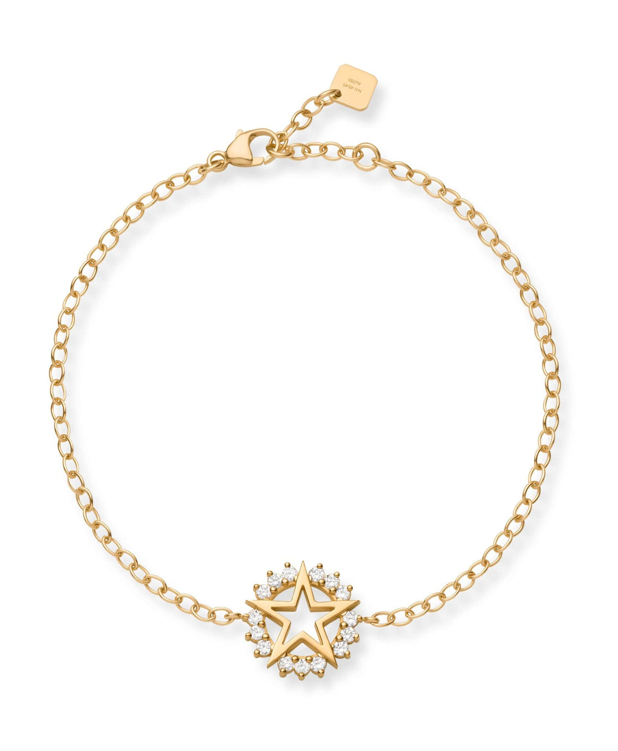 Medium Star Bracelet: Discover Luxury Fine Jewelry | Nouvel Heritage || Yellow Gold