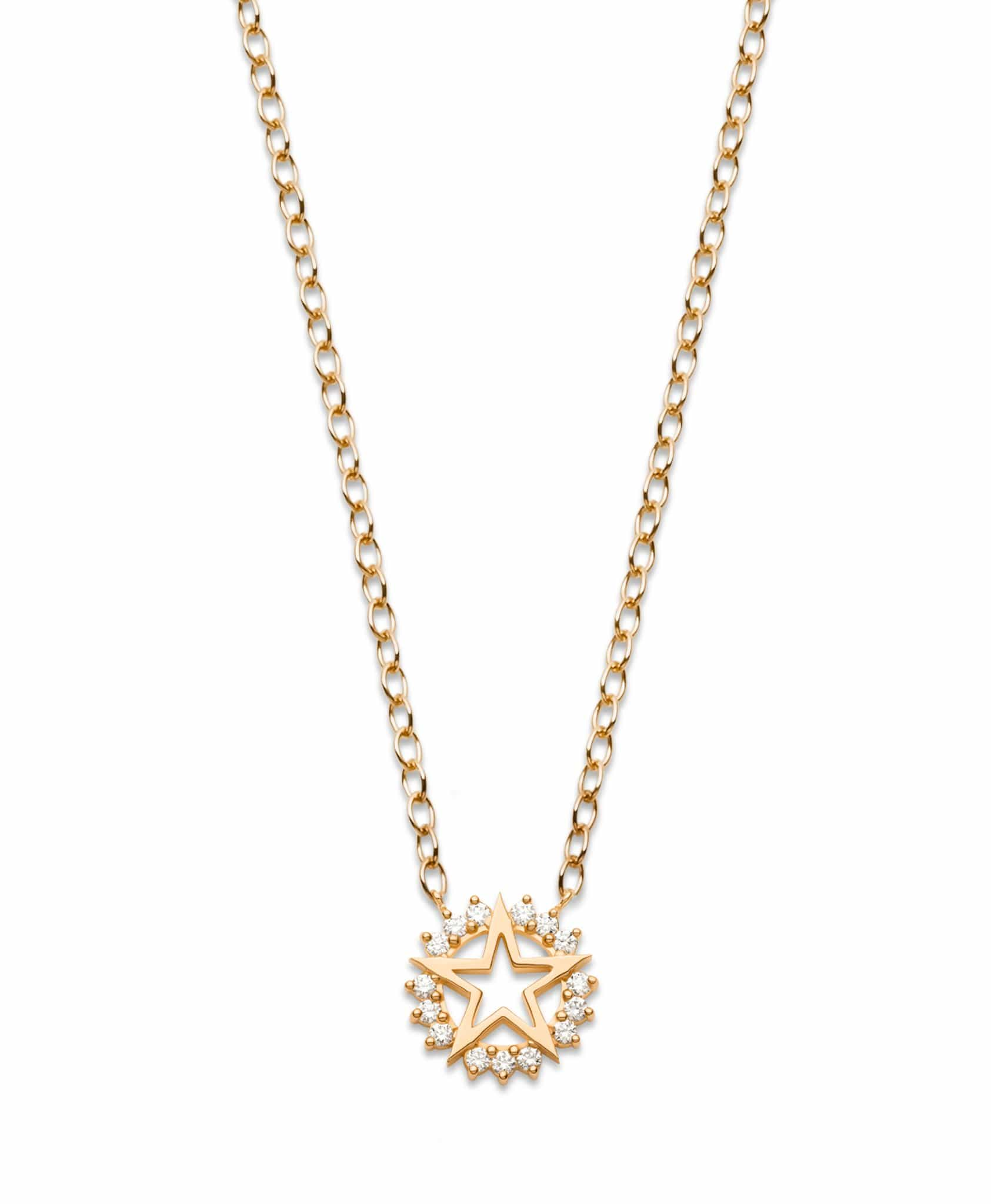 Medium Star Pendant: Discover Luxury Fine Jewelry | Nouvel Heritage || Rose Gold