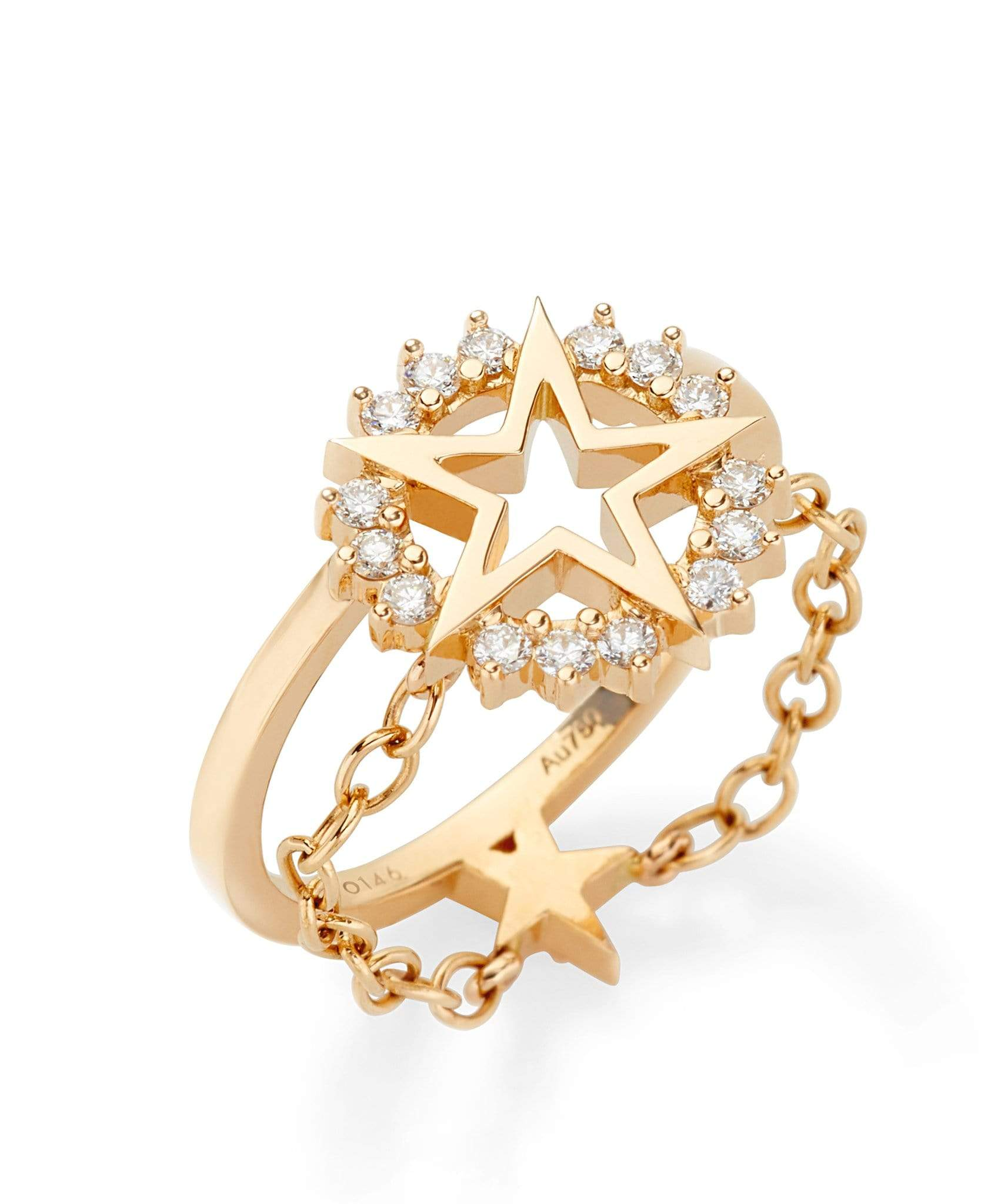Medium Star Ring: Discover Luxury Fine Jewelry | Nouvel Heritage || Yellow Gold