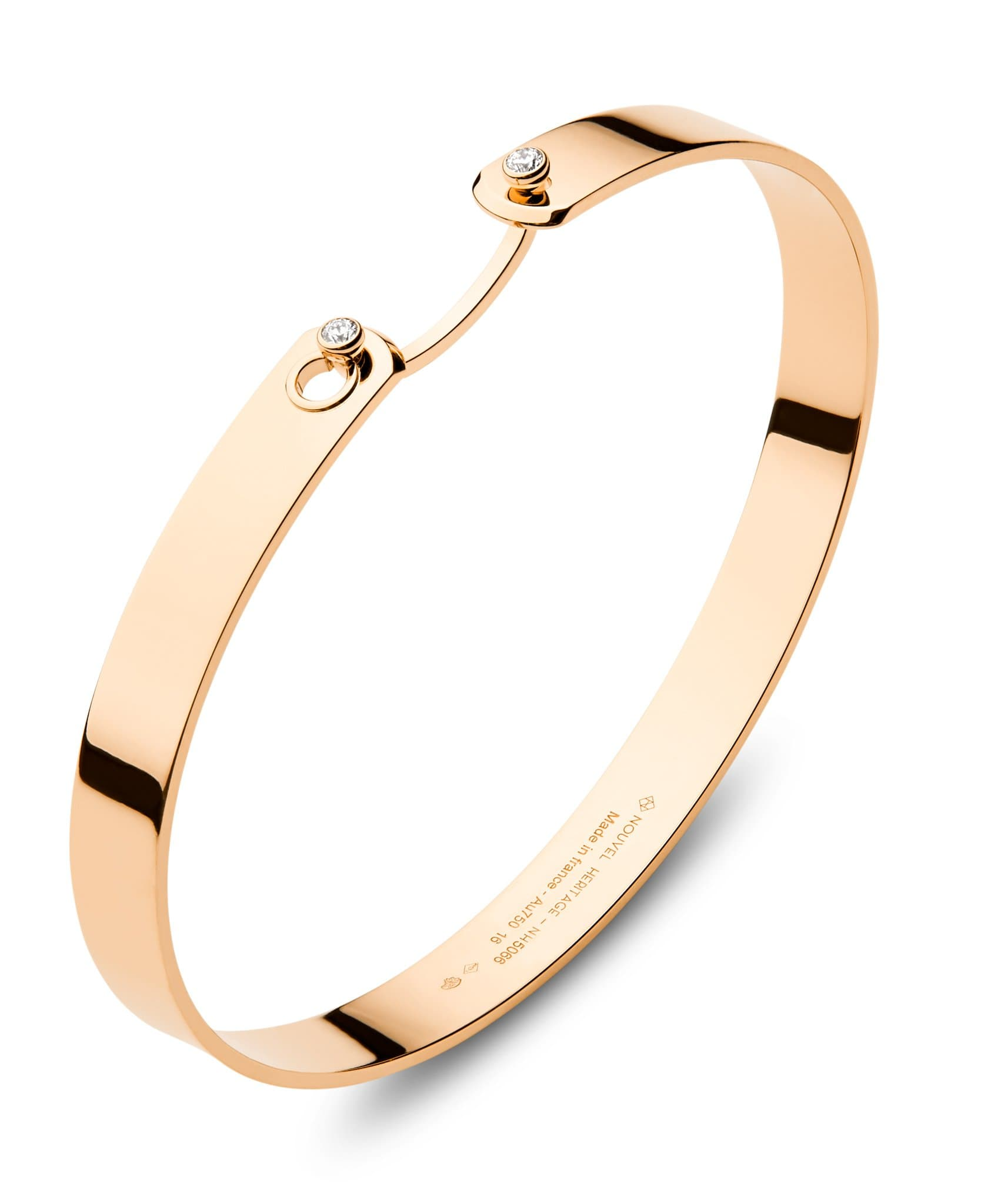 Monday Morning GM Mood Bangle: Discover Luxury Fine Jewelry | Nouvel Heritage || Rose Gold