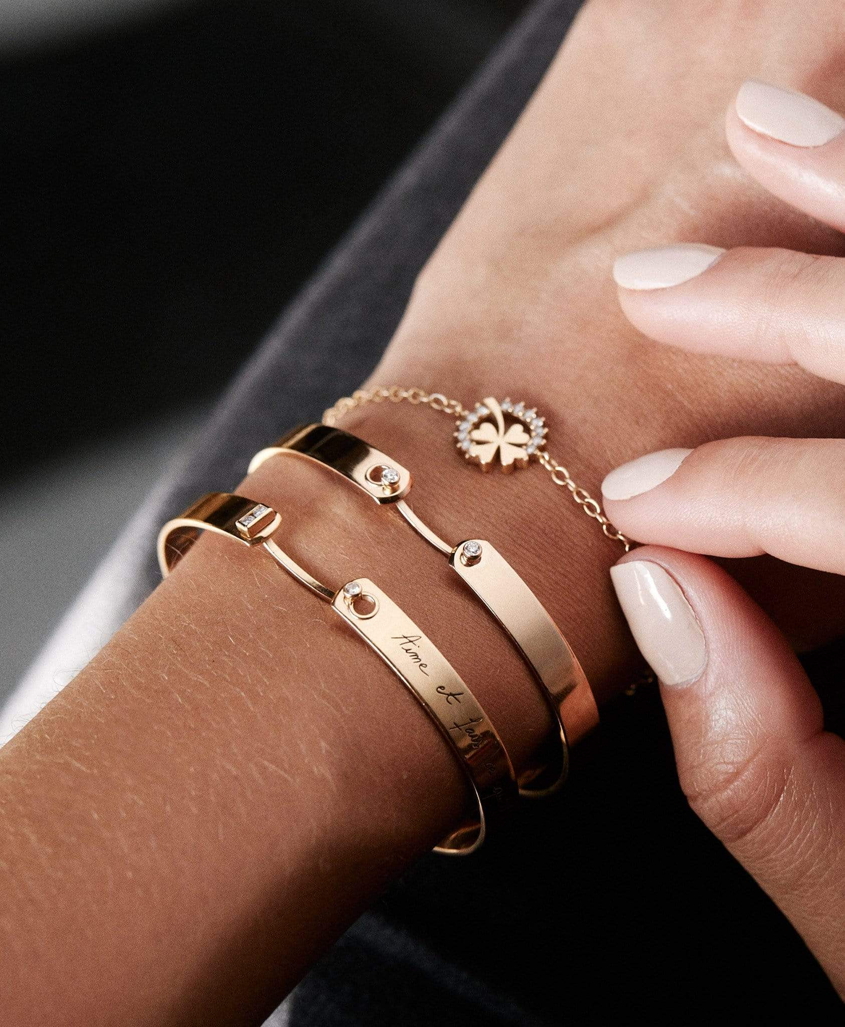 Monday Morning GM Mood Bangle: Discover Luxury Fine Jewelry | Nouvel Heritage