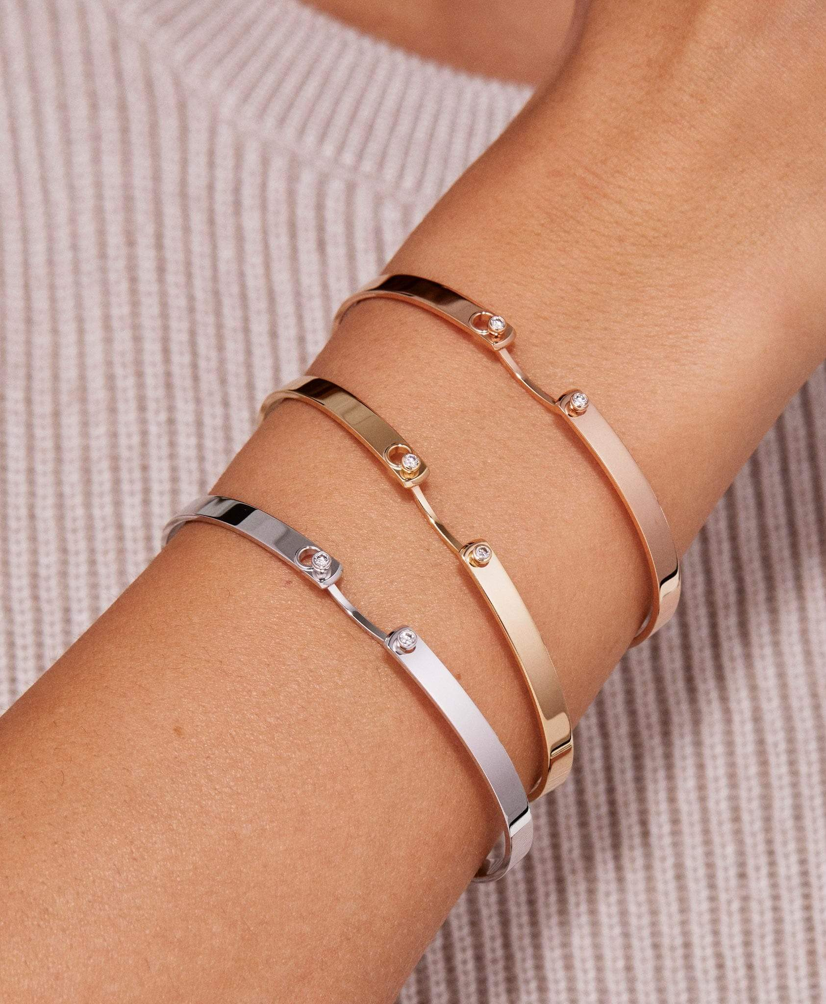 Monday Morning Mood Bangle: Discover Luxury Fine Jewelry | Nouvel Heritage
