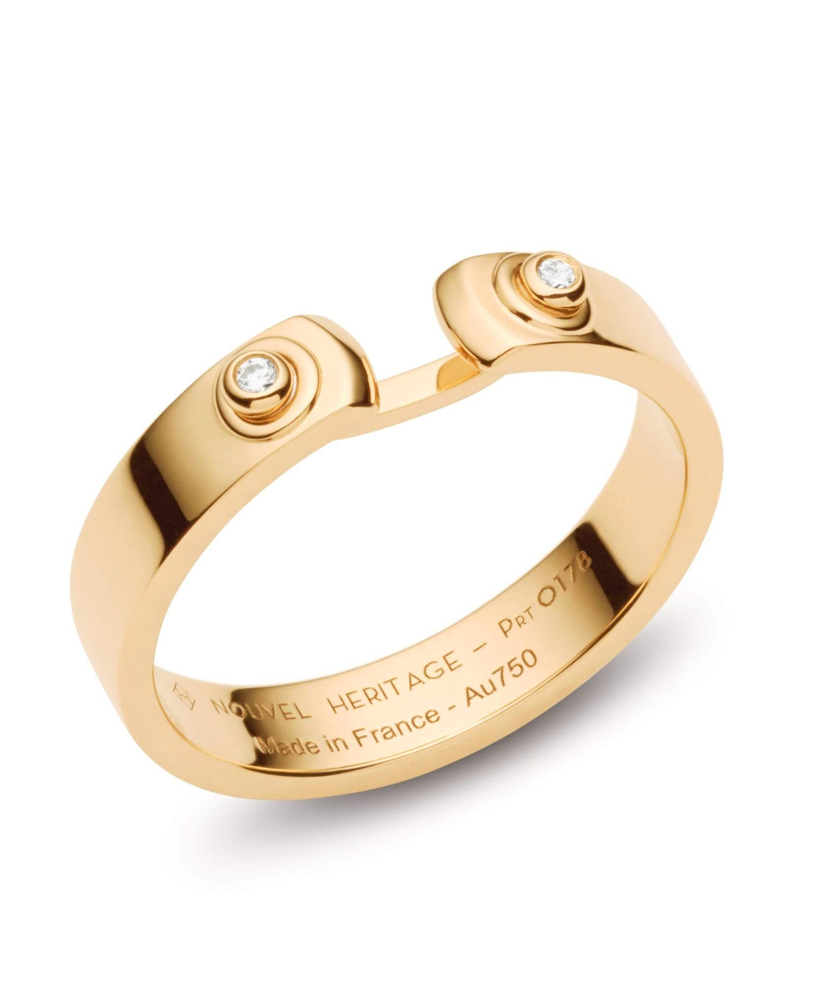 Monday Morning Mood Ring: Discover Luxury Fine Jewelry | Nouvel Heritage || Yellow Gold