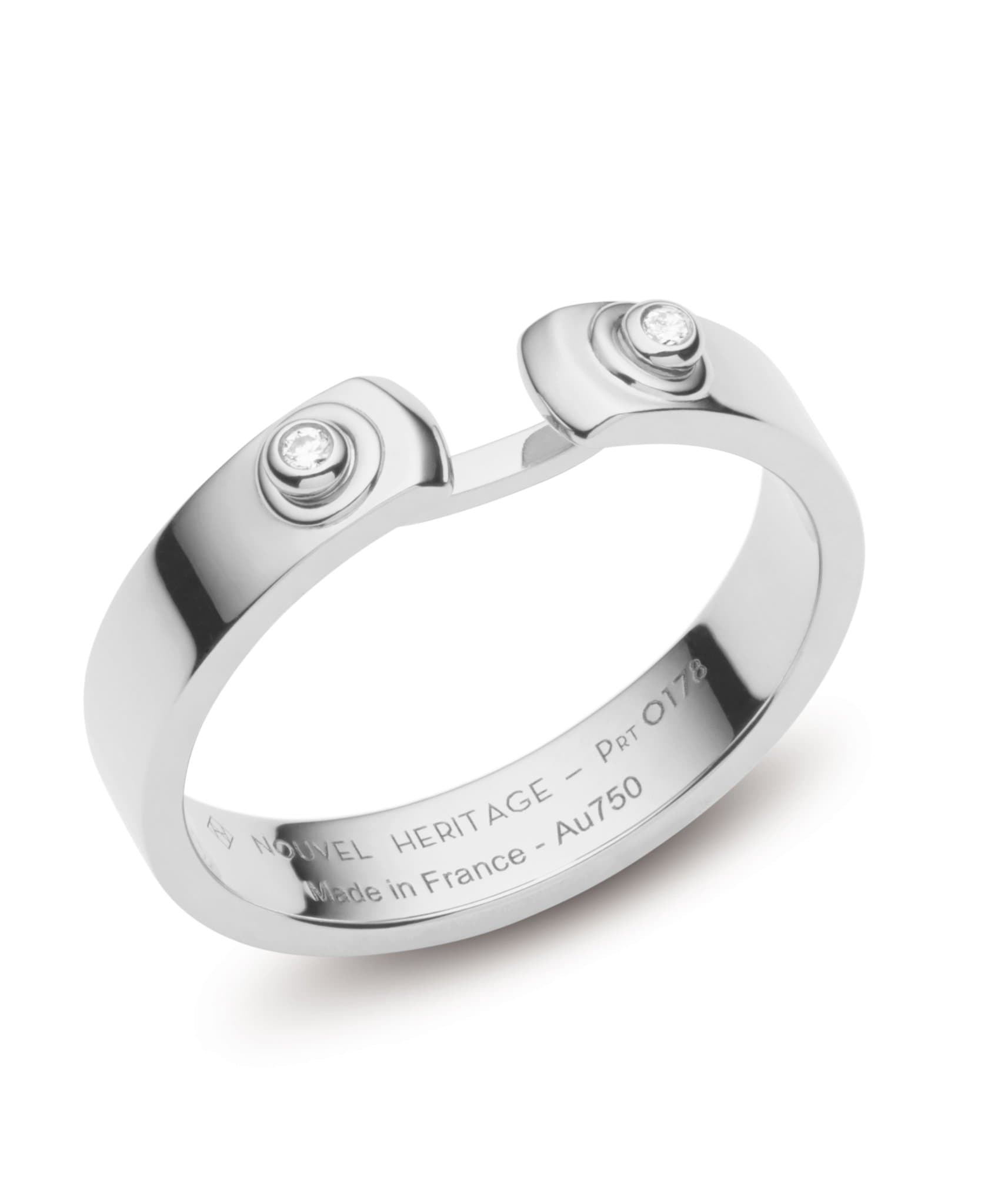 Monday Morning Mood Ring: Discover Luxury Fine Jewelry | Nouvel Heritage || White Gold