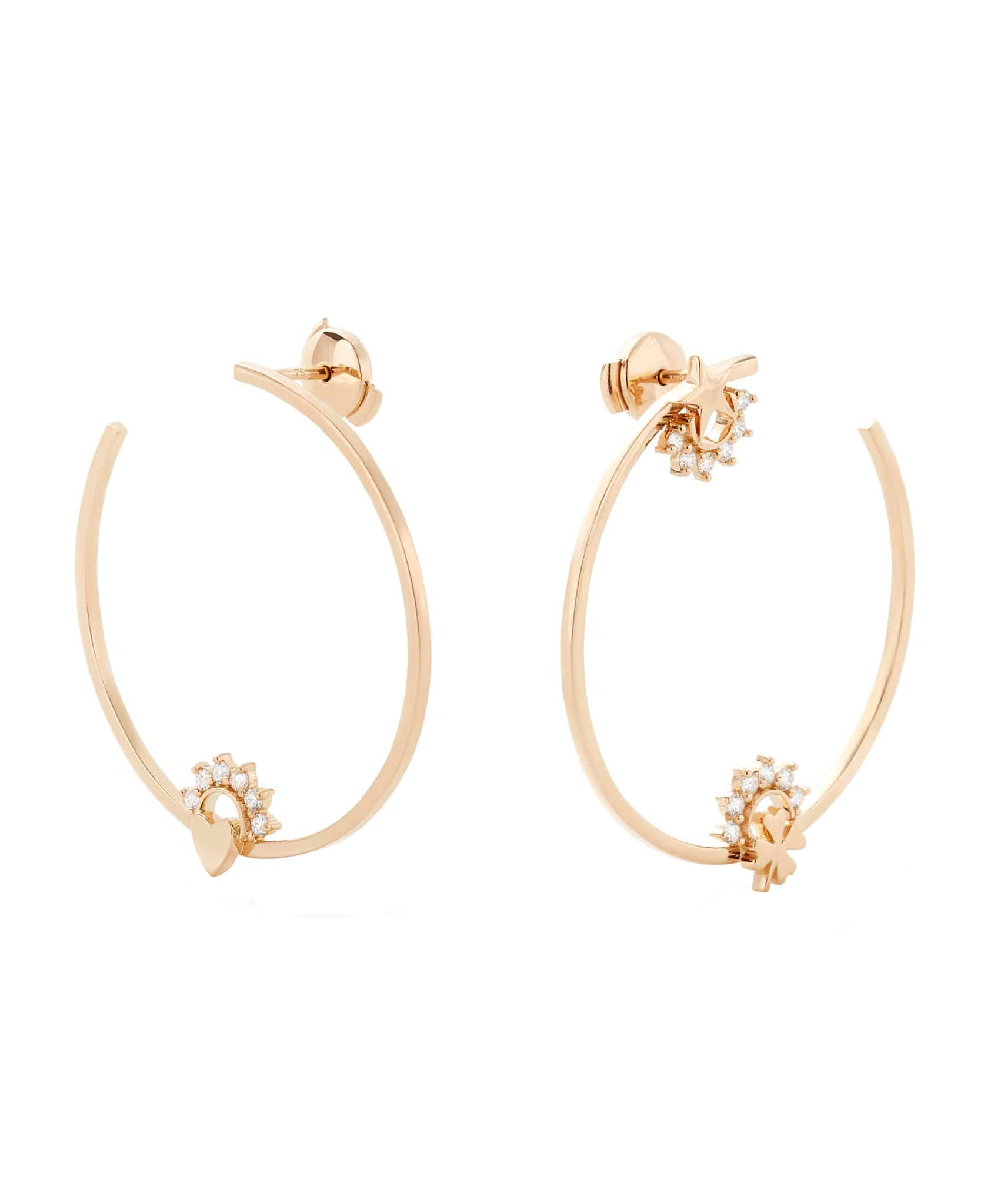 Motifs Hoops: Discover Luxury Fine Jewelry | Nouvel Heritage || Yellow Gold