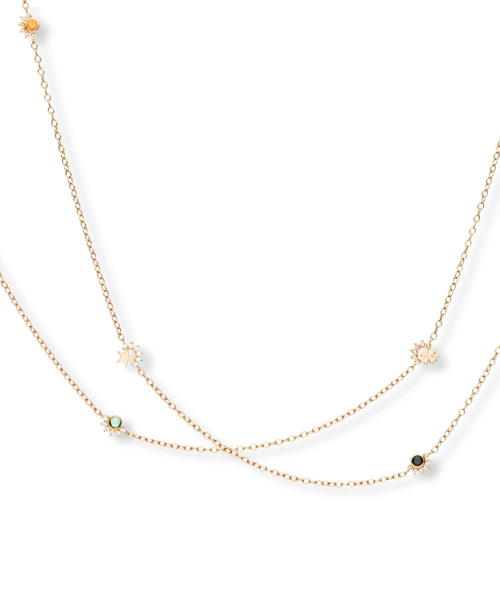 Multi-Motifs Long Necklace: Discover Luxury Fine Jewelry | Nouvel Heritage