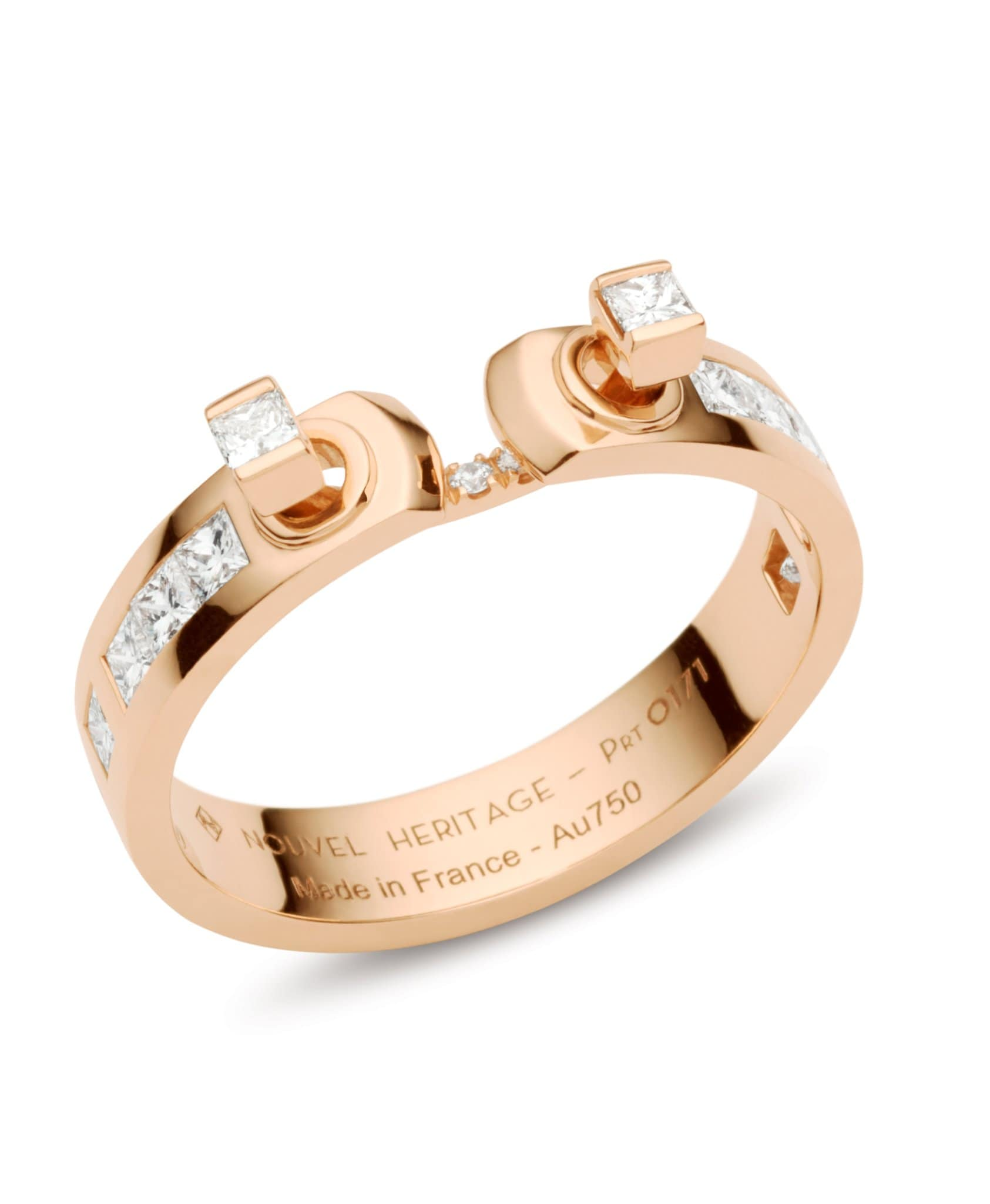 My Best Friend's Wedding Mood Ring: Discover Luxury Fine Jewelry | Nouvel Heritage || Rose Gold