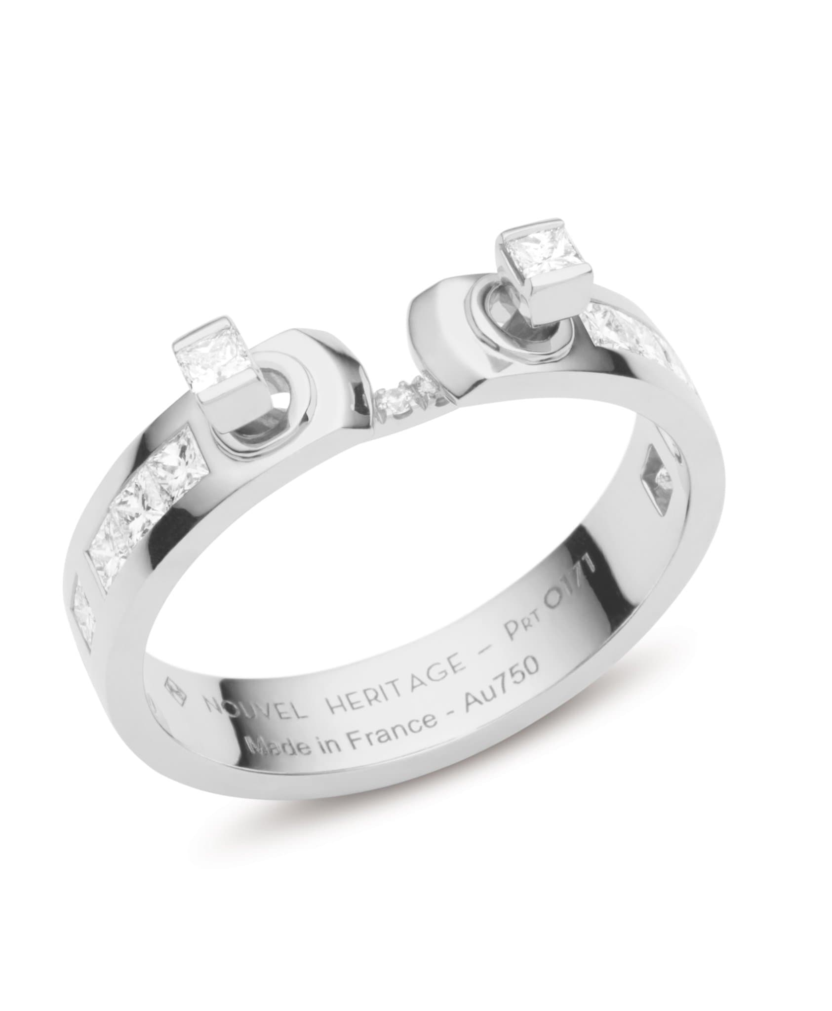 My Best Friend's Wedding Mood Ring: Discover Luxury Fine Jewelry | Nouvel Heritage || White Gold