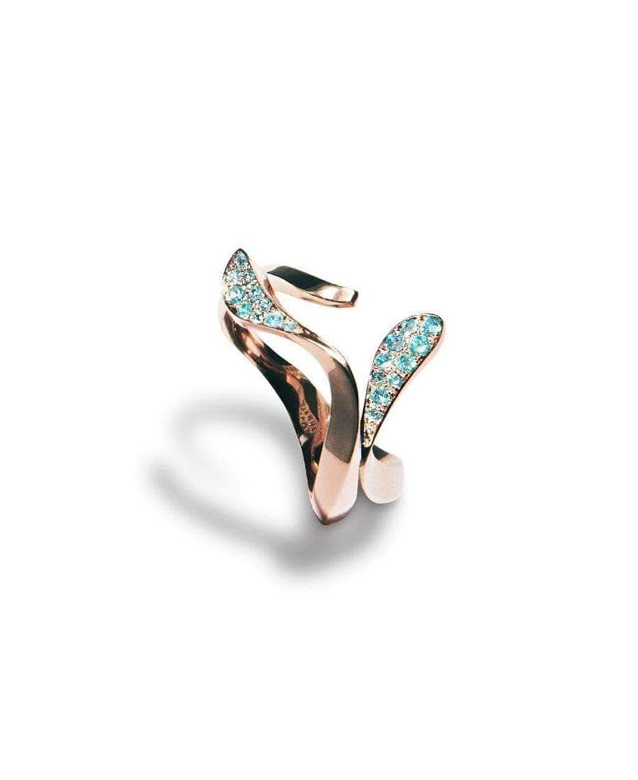 Paraiba Wave Ring: Discover Luxury Fine Jewelry | Nouvel Heritage