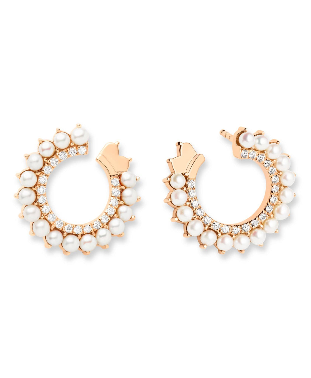 Pearl Earrings: Discover Luxury Fine Jewelry | Nouvel Heritage || Yellow Gold