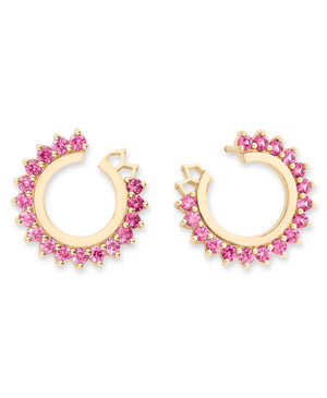 Pink Sapphire Earrings - Nouvel Heritage