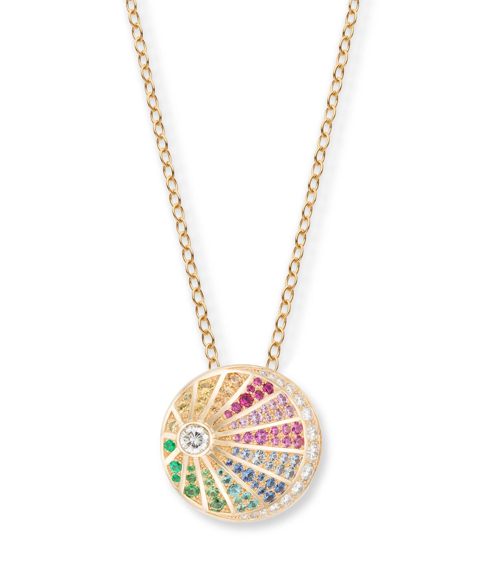 Rainbow Medallion: Discover Luxury Fine Jewelry | Nouvel Heritage