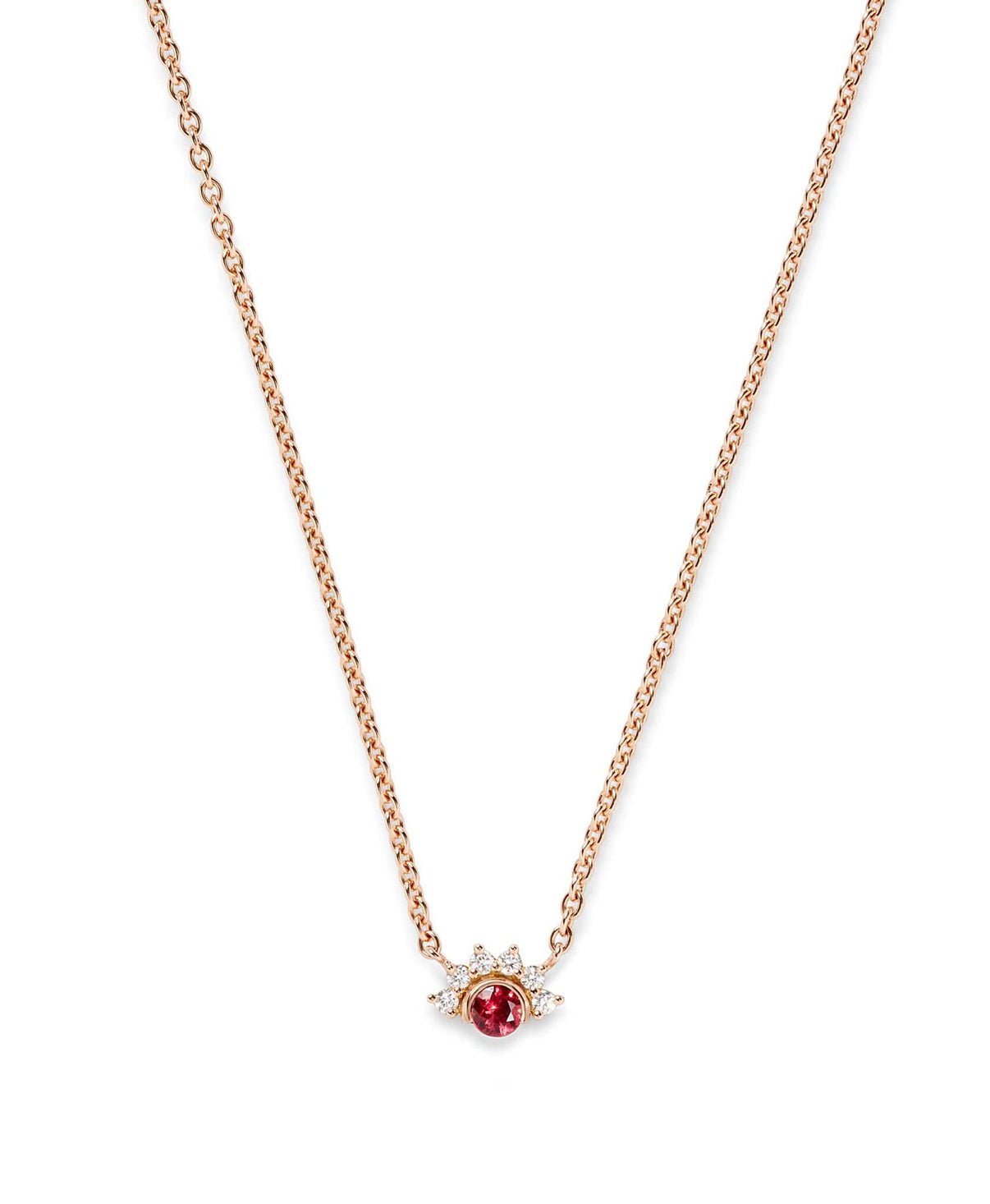 Red Spinel Pendant: Discover Luxury Fine Jewelry | Nouvel Heritage || Yellow Gold