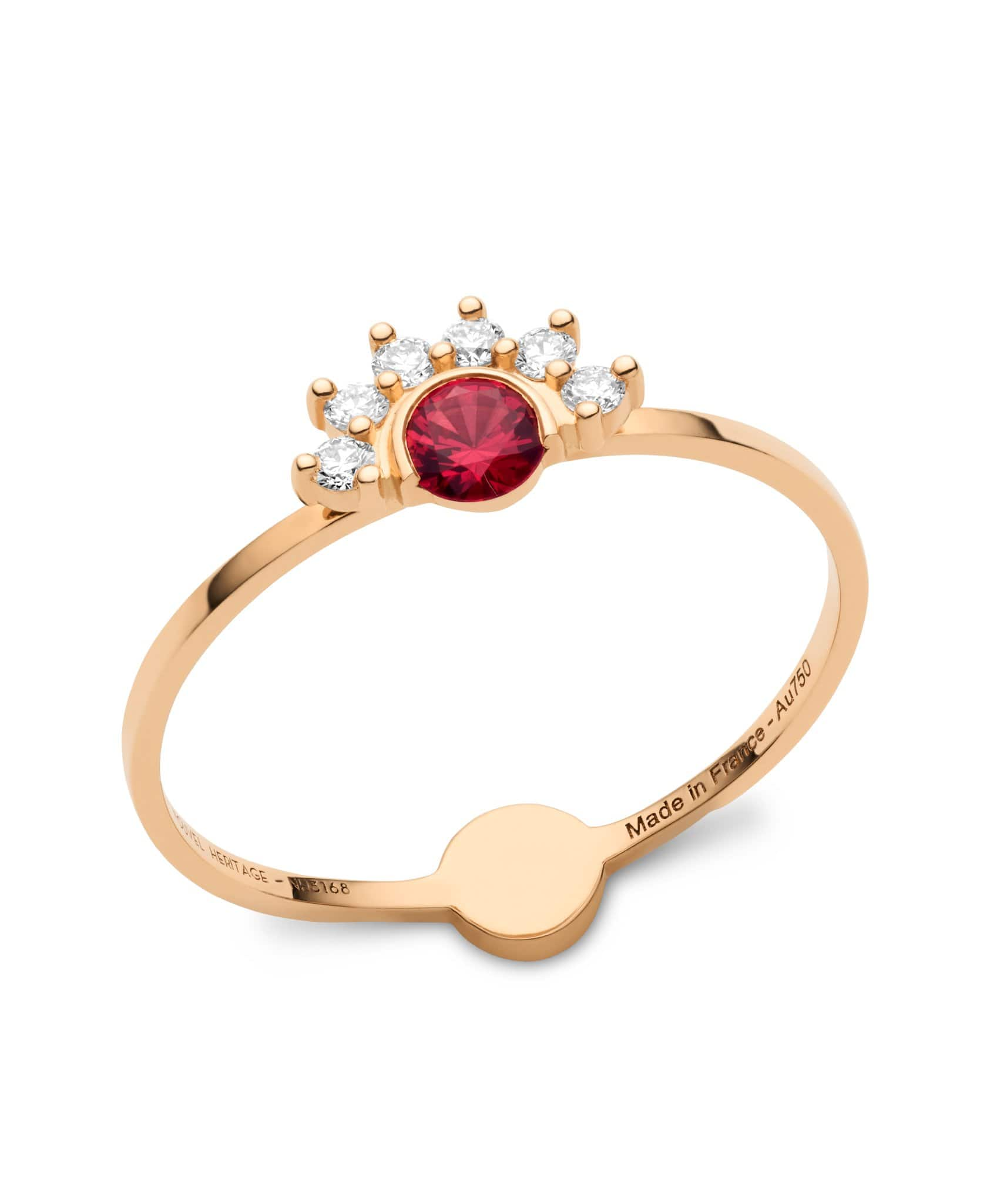 Red Spinel Ring: Discover Luxury Fine Jewelry | Nouvel Heritage || Rose Gold