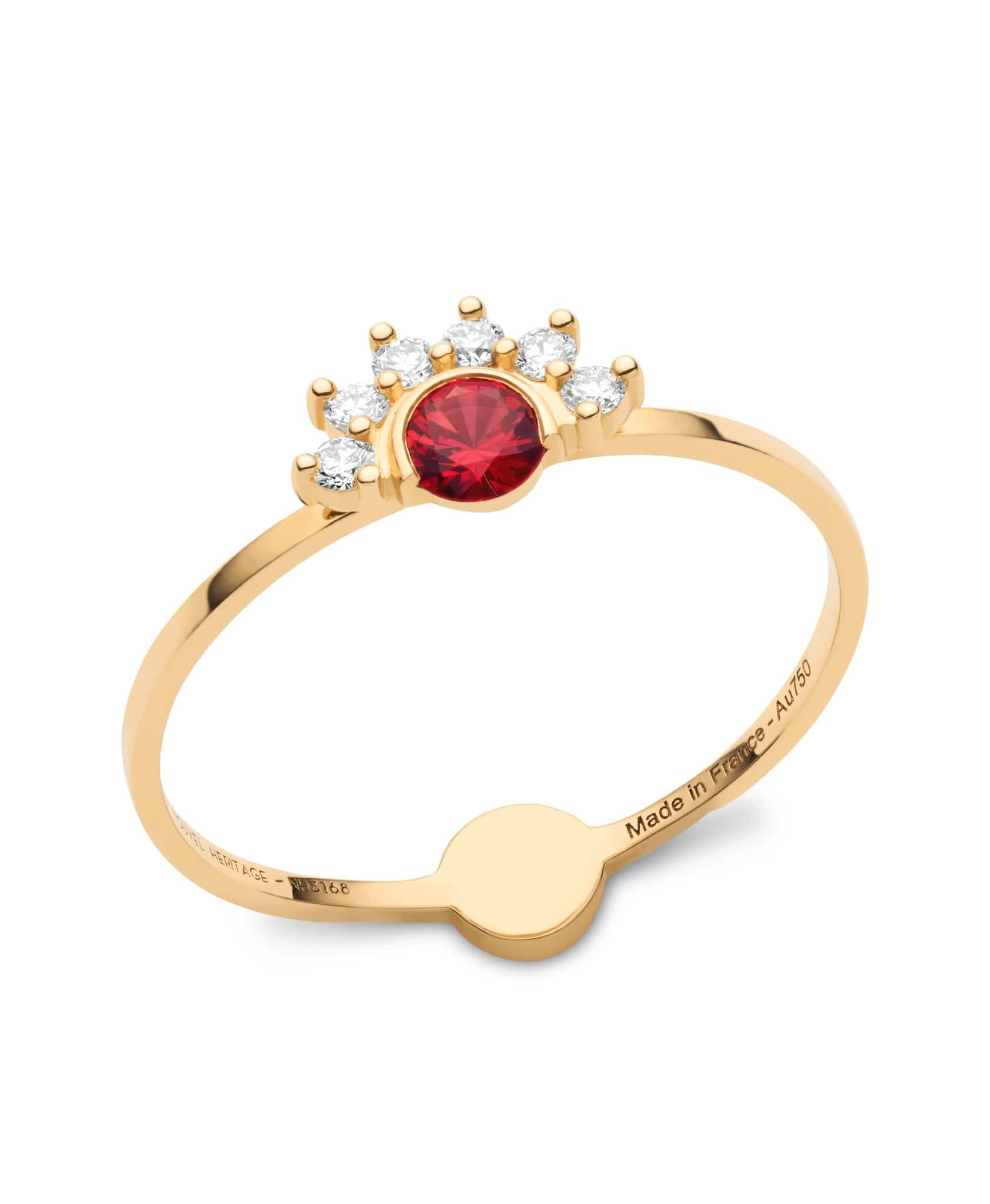 Red Spinel Ring - Nouvel Heritage