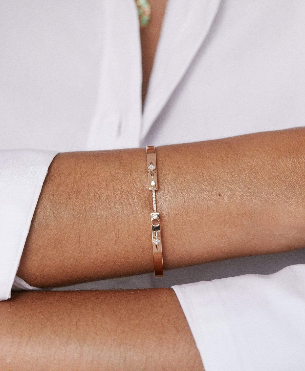 Rêverie Mood Bangle: Discover Luxury Fine Jewelry | Nouvel Heritage