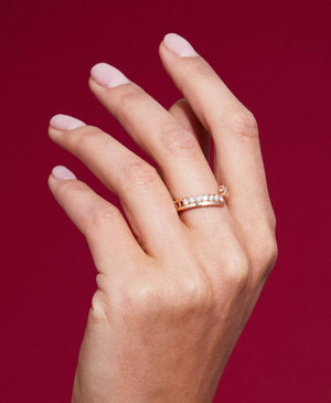 Simple Full Diamond Ring: Discover Luxury Fine Jewelry | Nouvel Heritage