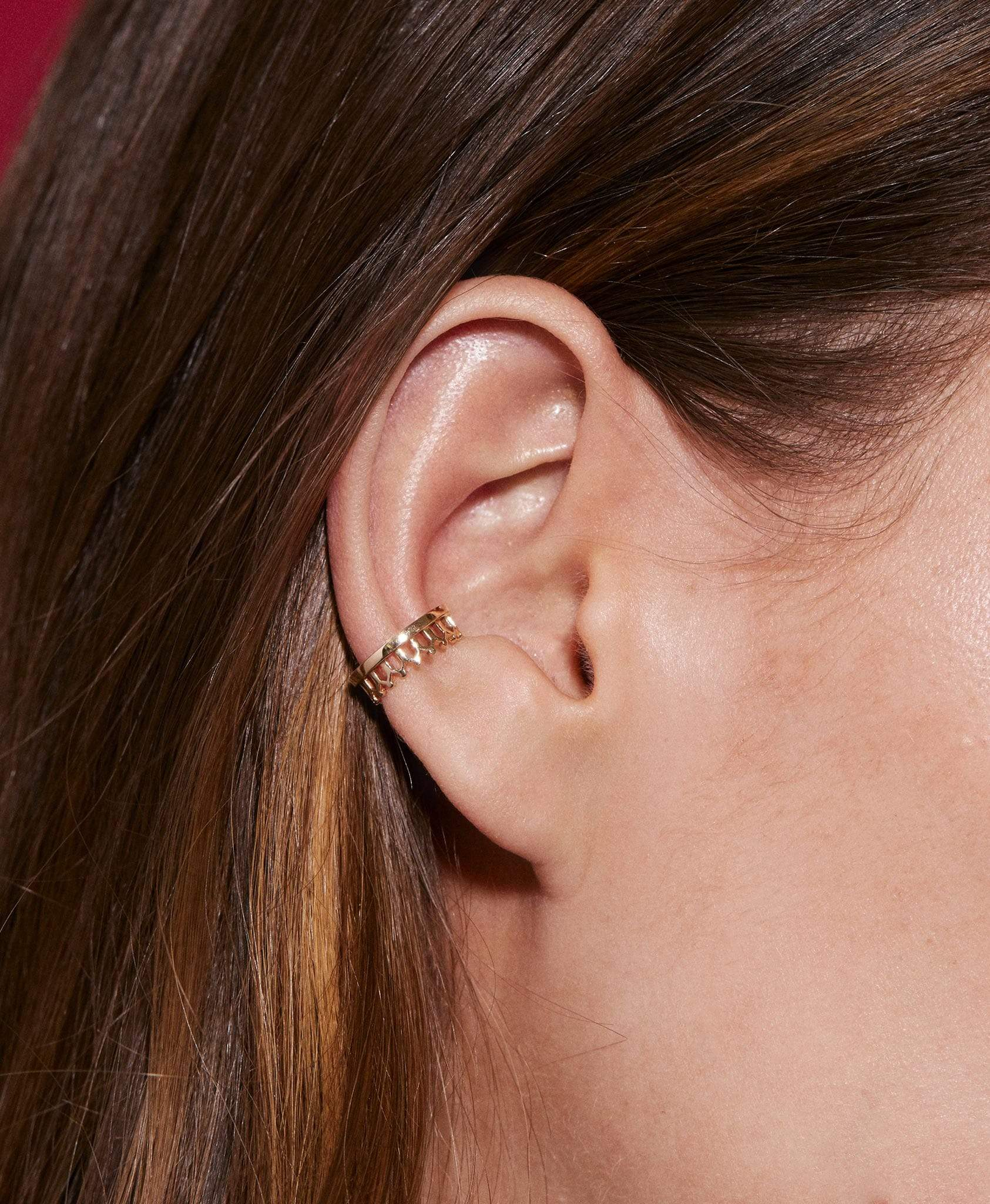 Simple Gold Ear Cuff: Discover Luxury Fine Jewelry | Nouvel Heritage