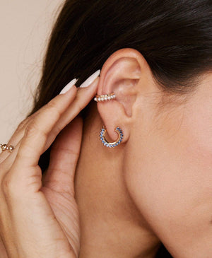 Simple Pearl Ear Cuff: Discover Luxury Fine Jewelry | Nouvel Heritage