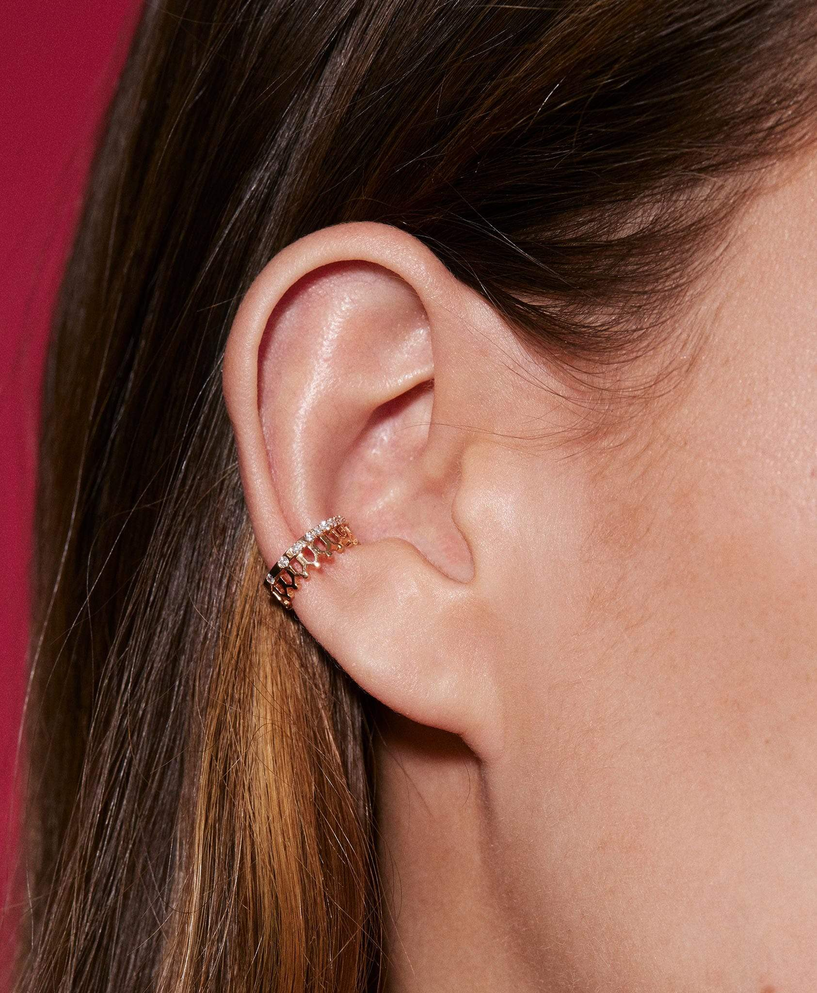 Simple Some Diamond Ear Cuff - Nouvel Heritage