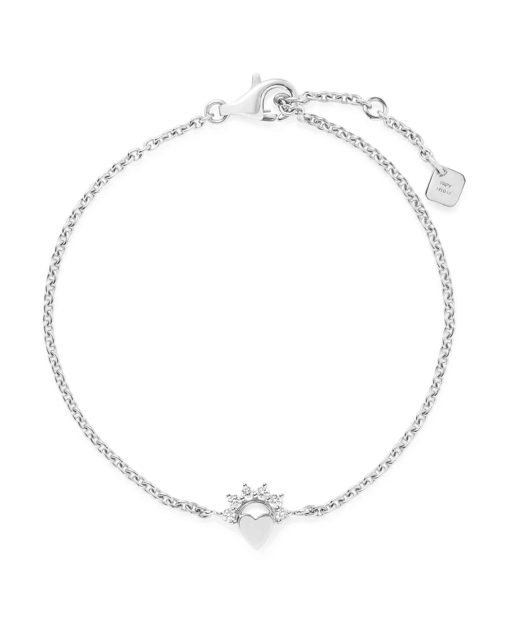Small Love Bracelet: Discover Luxury Fine Jewelry | Nouvel Heritage || White Gold