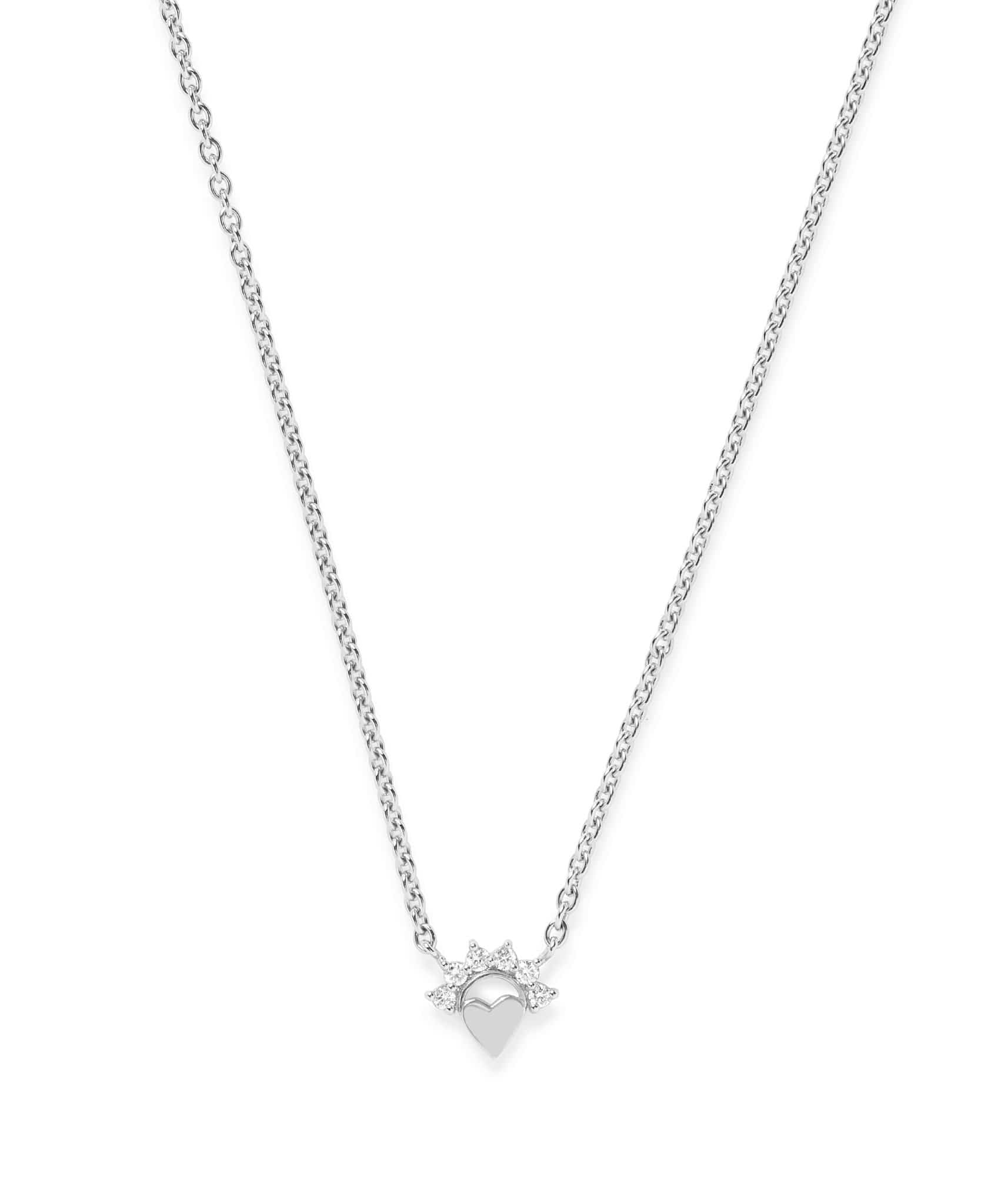 Small Love Pendant: Discover Luxury Fine Jewelry | Nouvel Heritage || White Gold