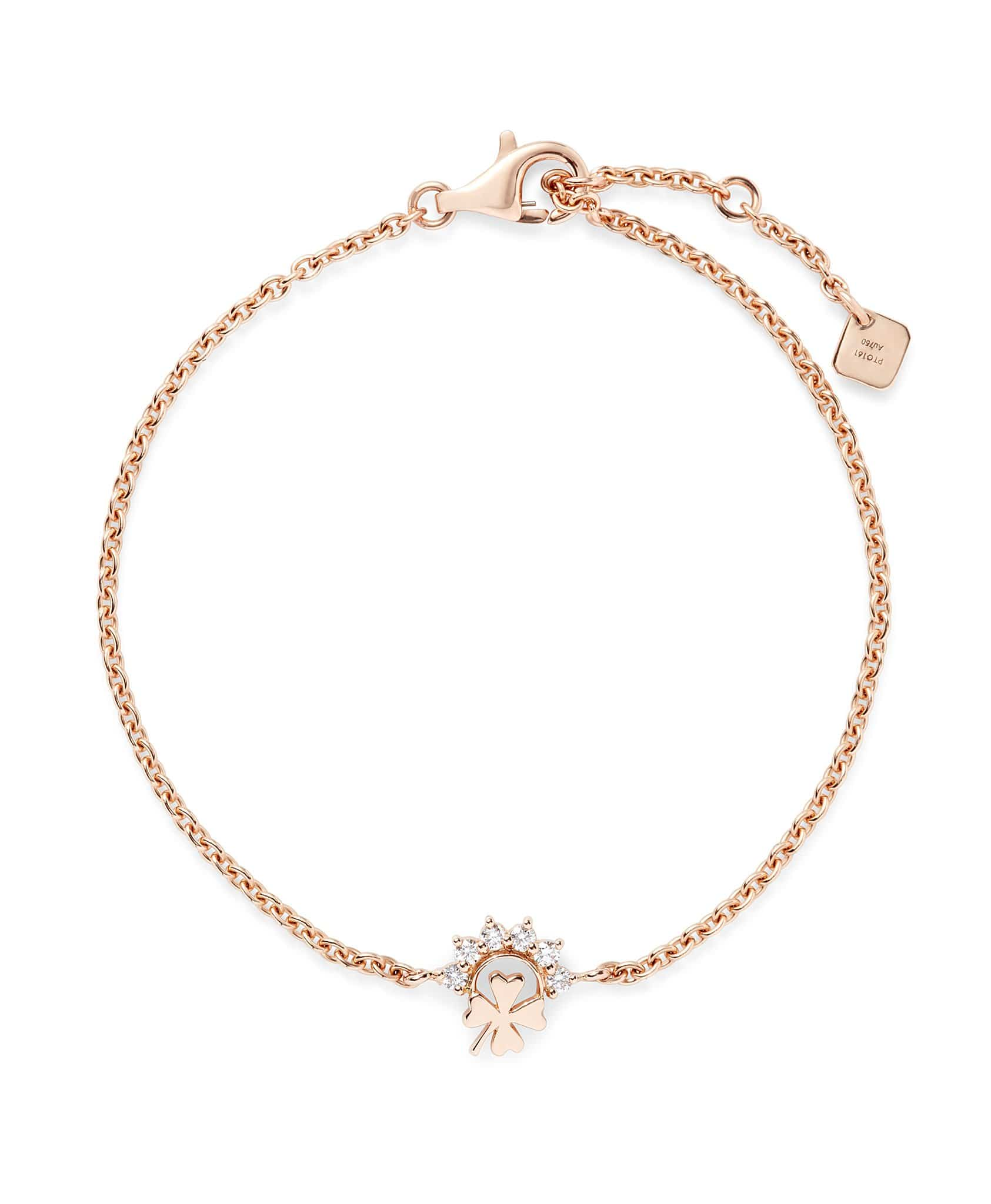 Small Luck Bracelet: Discover Luxury Fine Jewelry | Nouvel Heritage || Rose Gold