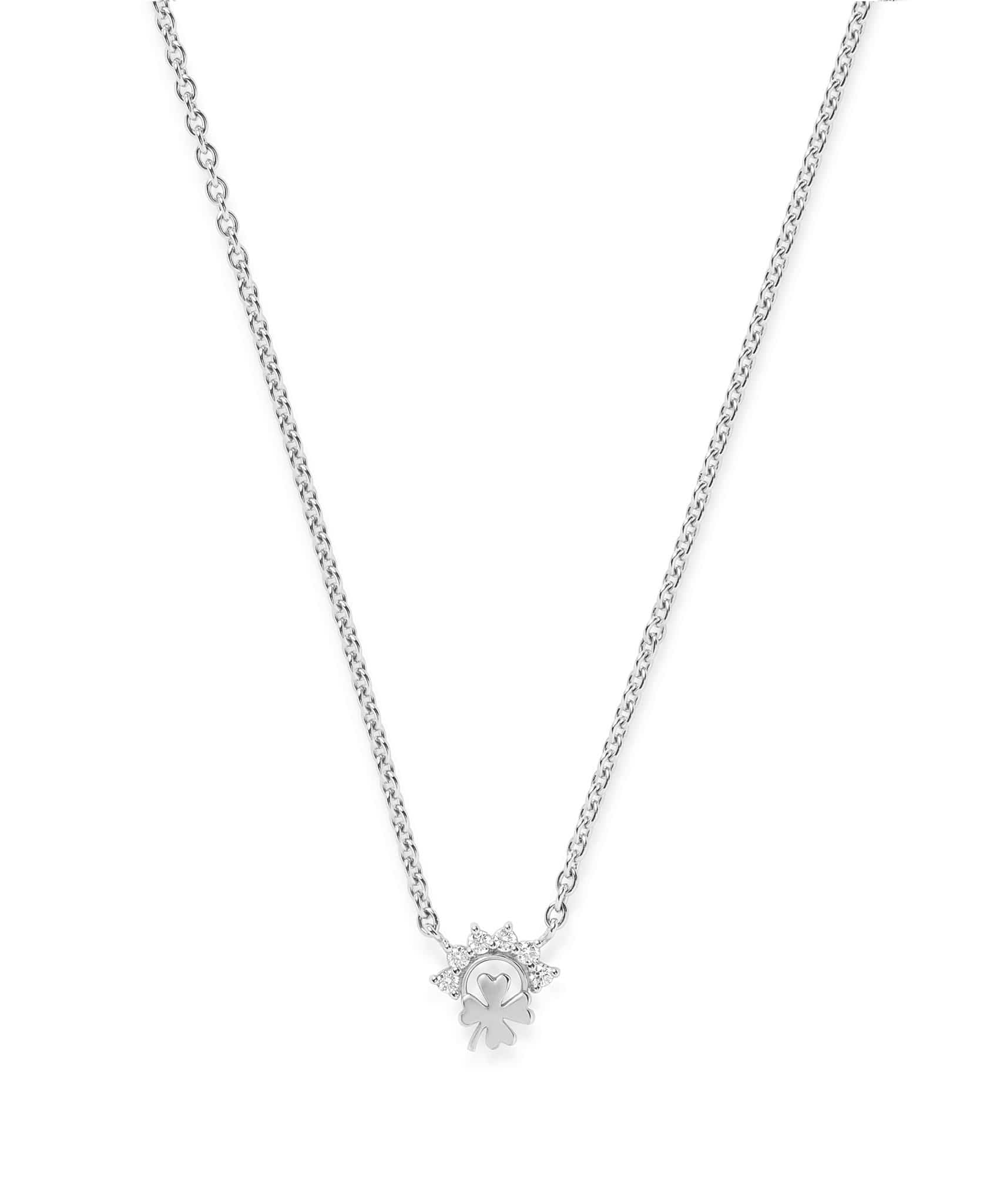 Small Luck Pendant: Discover Luxury Fine Jewelry | Nouvel Heritage || White Gold