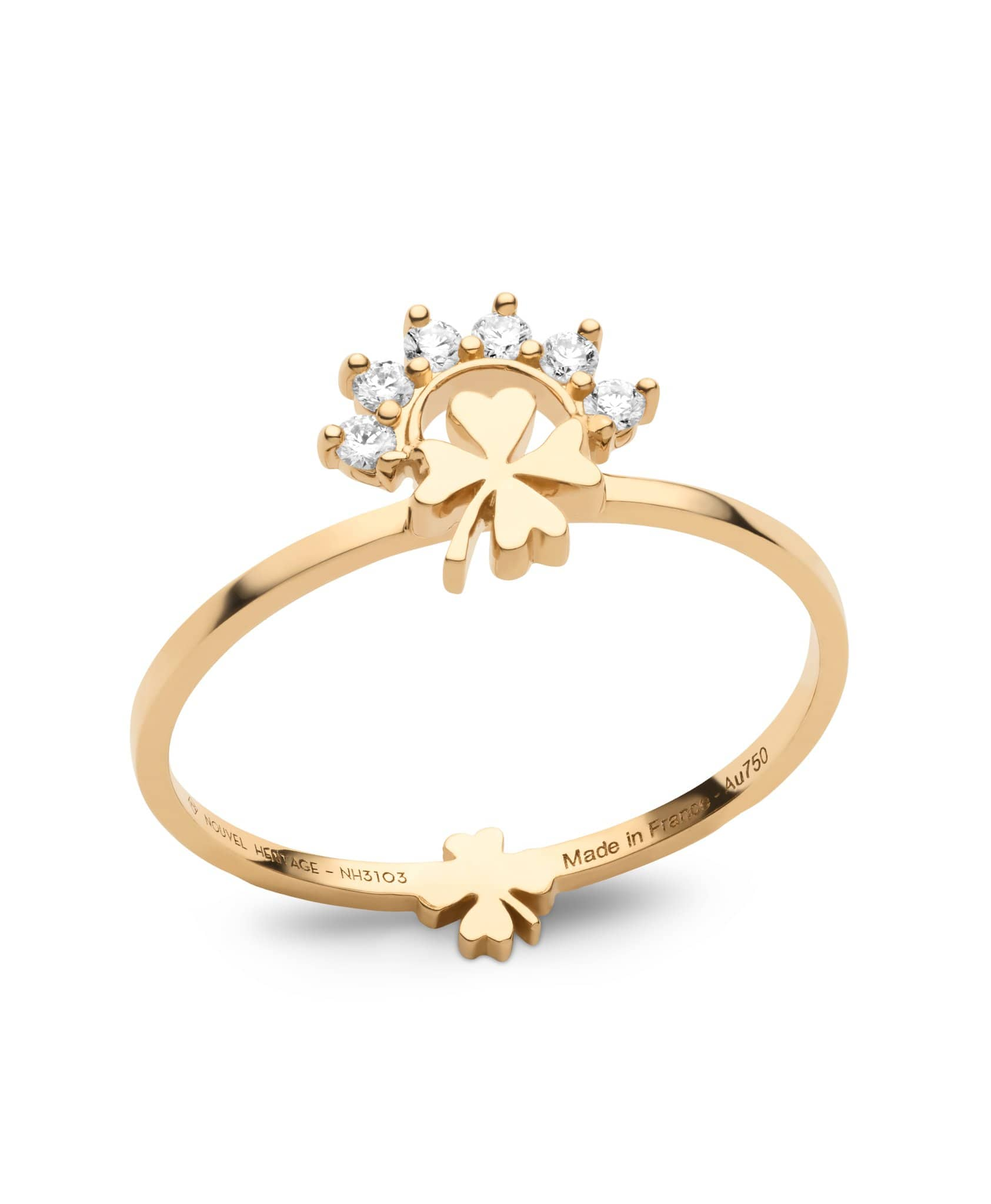 Small Luck Ring: Discover Luxury Fine Jewelry | Nouvel Heritage || Yellow Gold