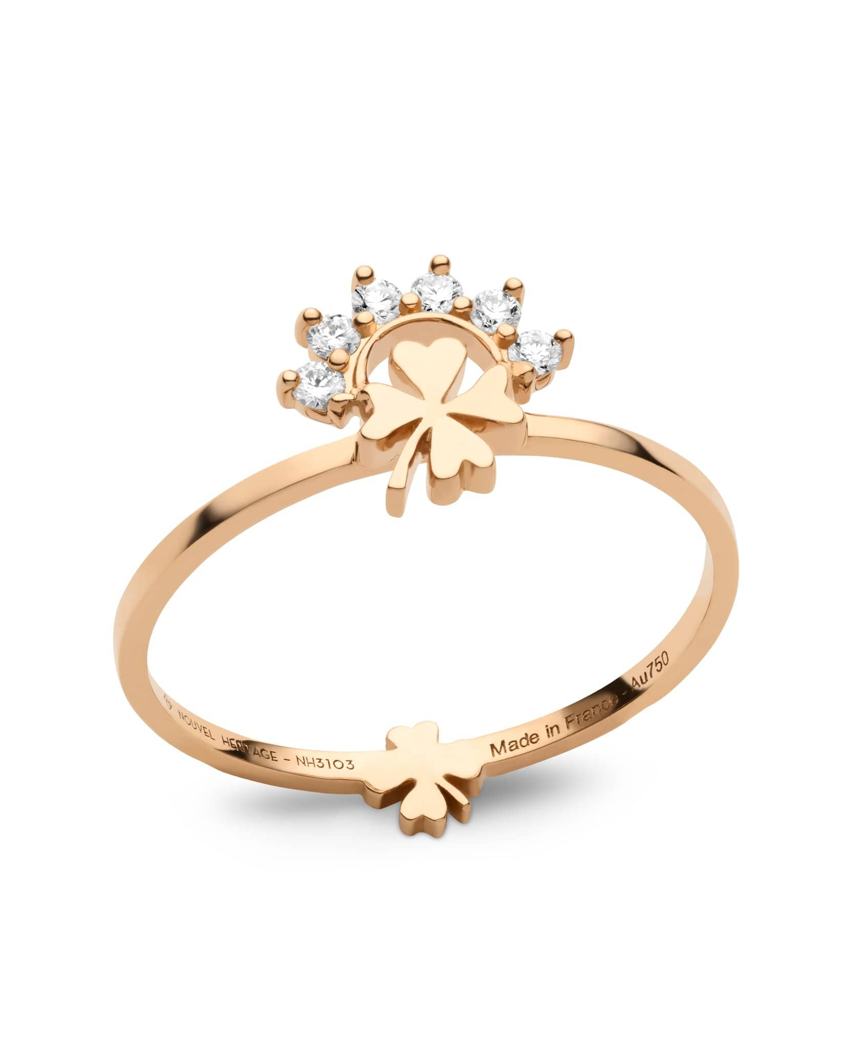 Small Luck Ring: Discover Luxury Fine Jewelry | Nouvel Heritage || Rose Gold
