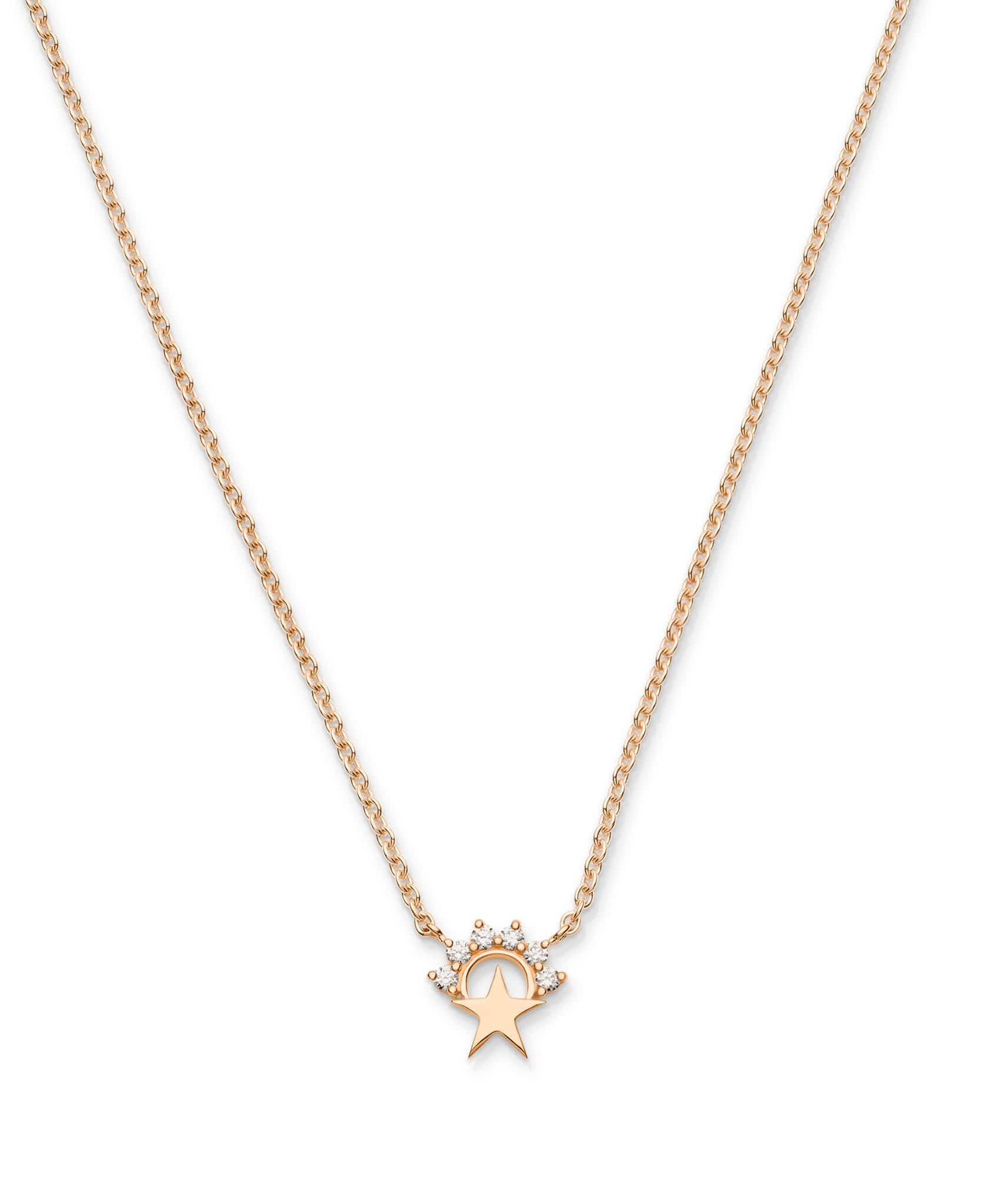 Mystic Necklace Small Star Pendant -