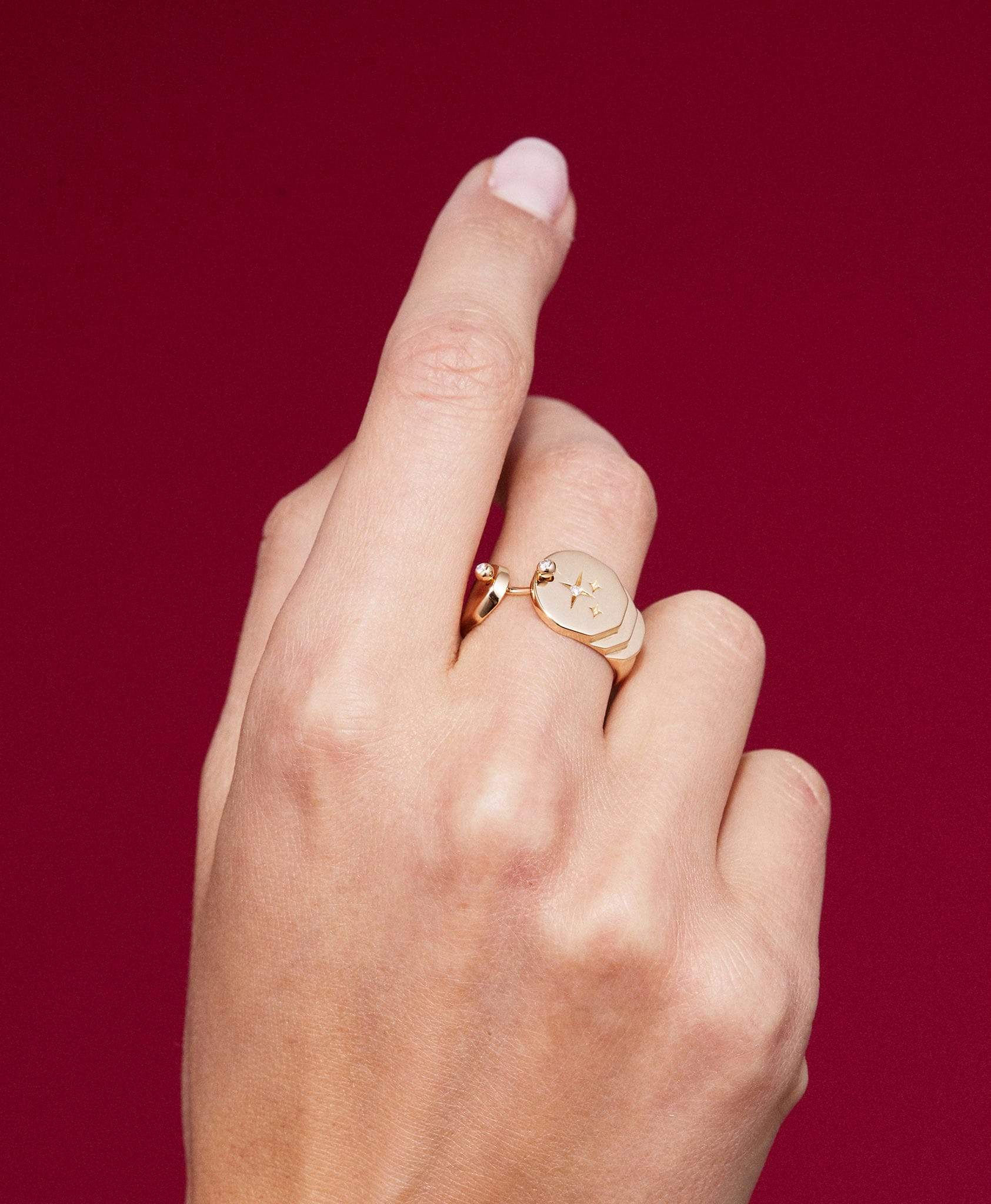 Sparkles Gold Ring: Discover Luxury Fine Jewelry | Nouvel Heritage