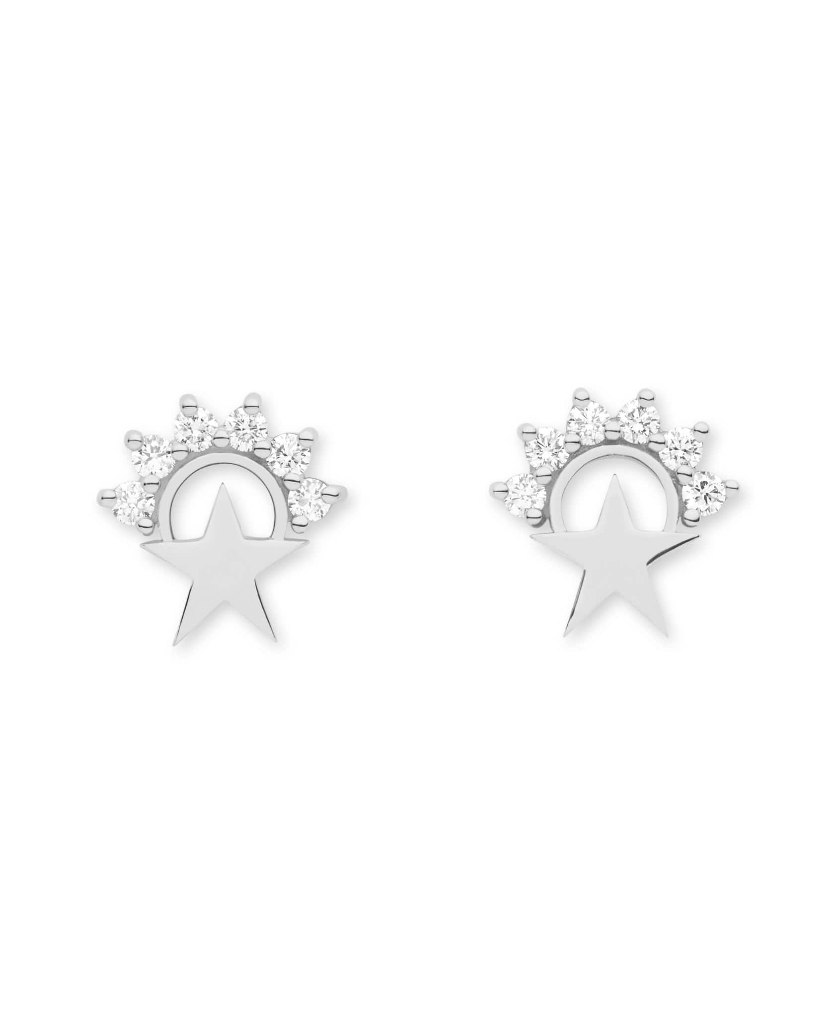 Star Studs: Discover Luxury Fine Jewelry | Nouvel Heritage || White Gold