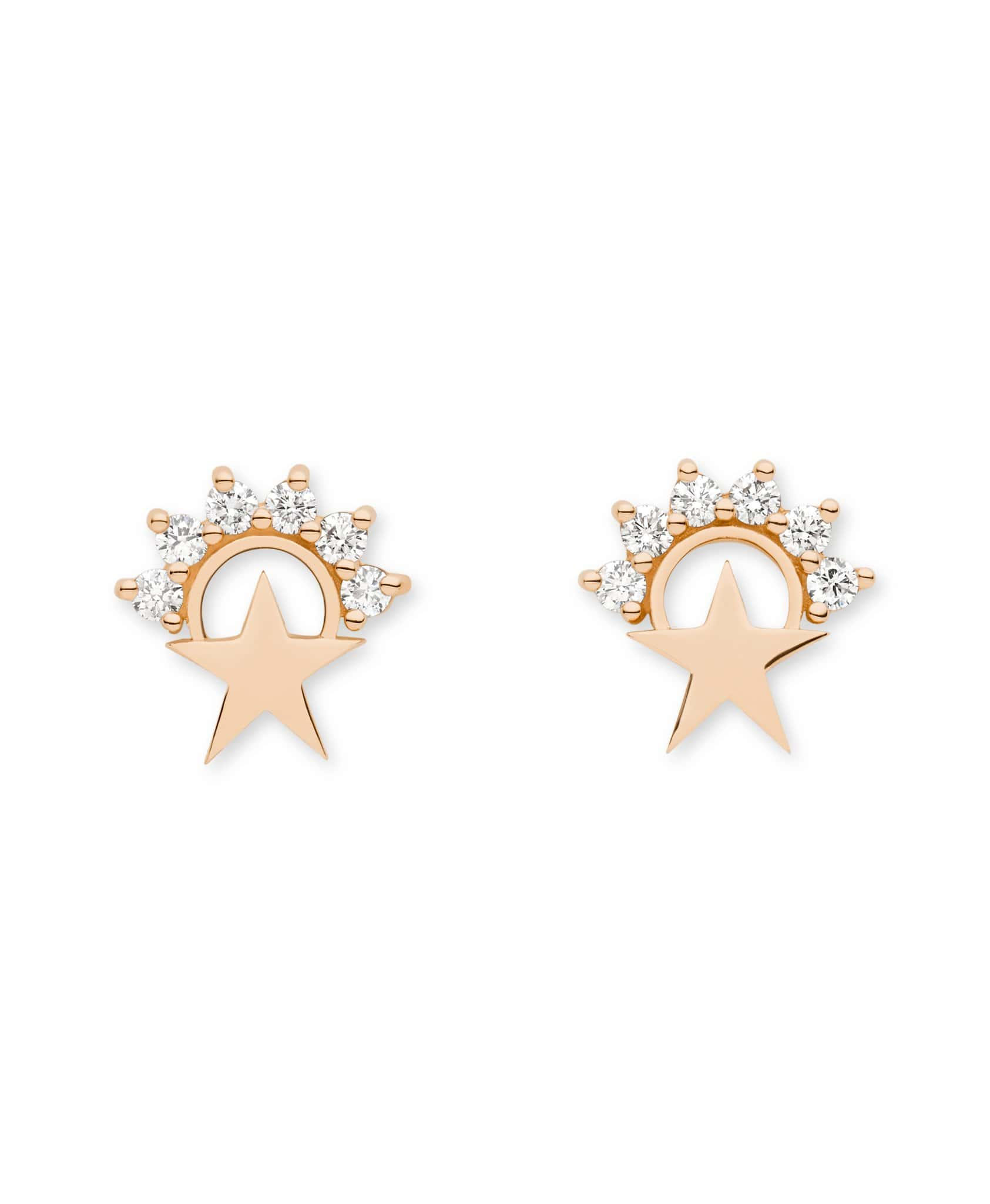Mystic Earrings Star Studs -